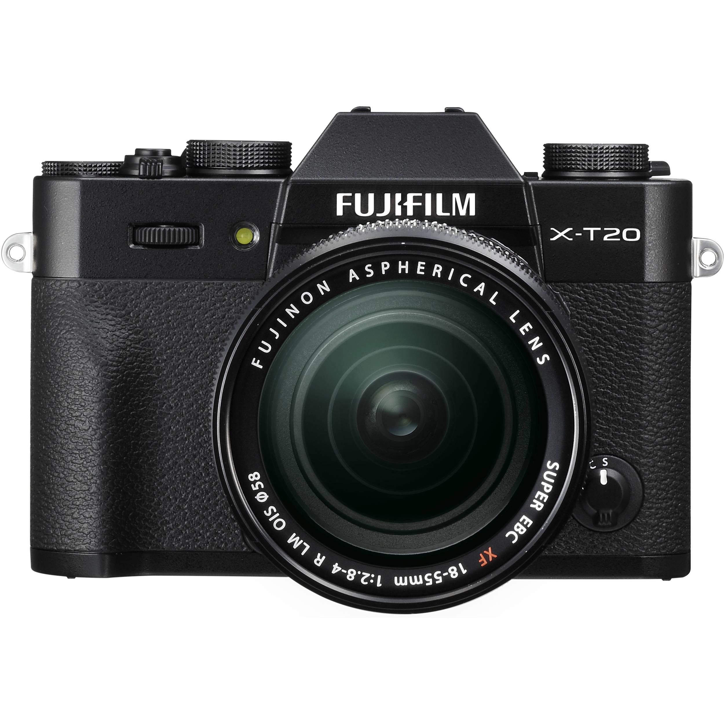 Camera Fujifilm Digital Cameras fujifilm mirrorless digital cameras bh photo video x t20 camera with 18 55mm lens black