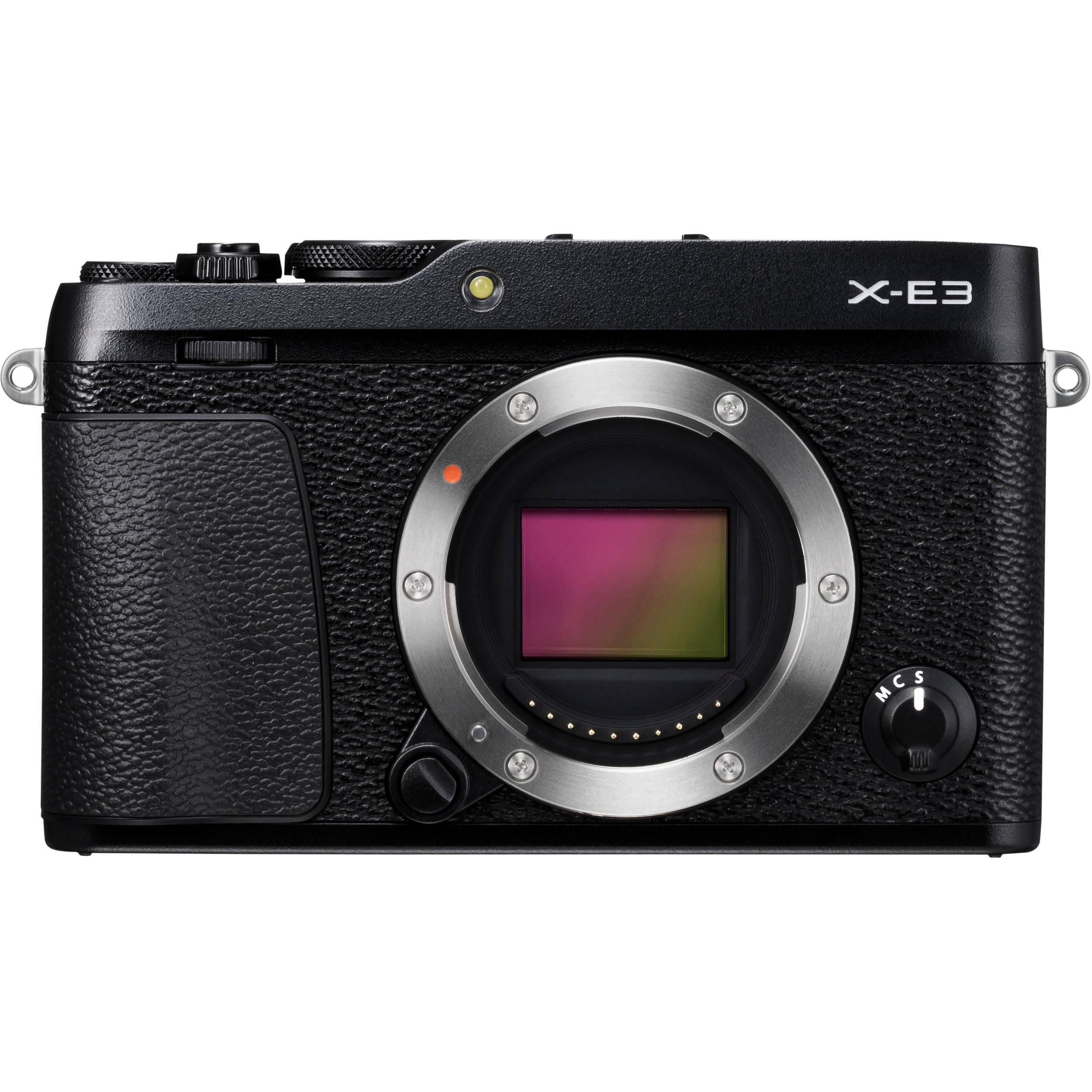 Fujifilm X E3 Mirrorless Digital Camera 16558530 Bh Photo Video X100s Iphone 5 Custom Hard Case Body Only Black