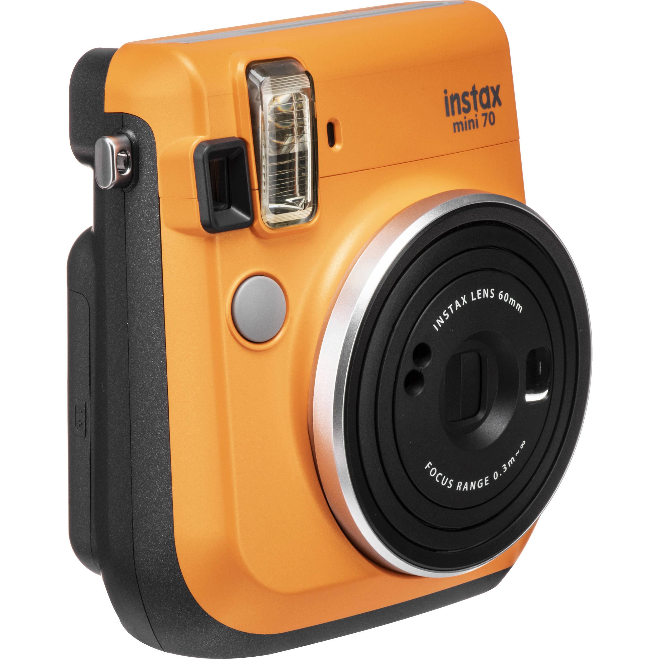 Fujifilm Instax Mini 70 Instant Camera - Blue inc 30 Shots
