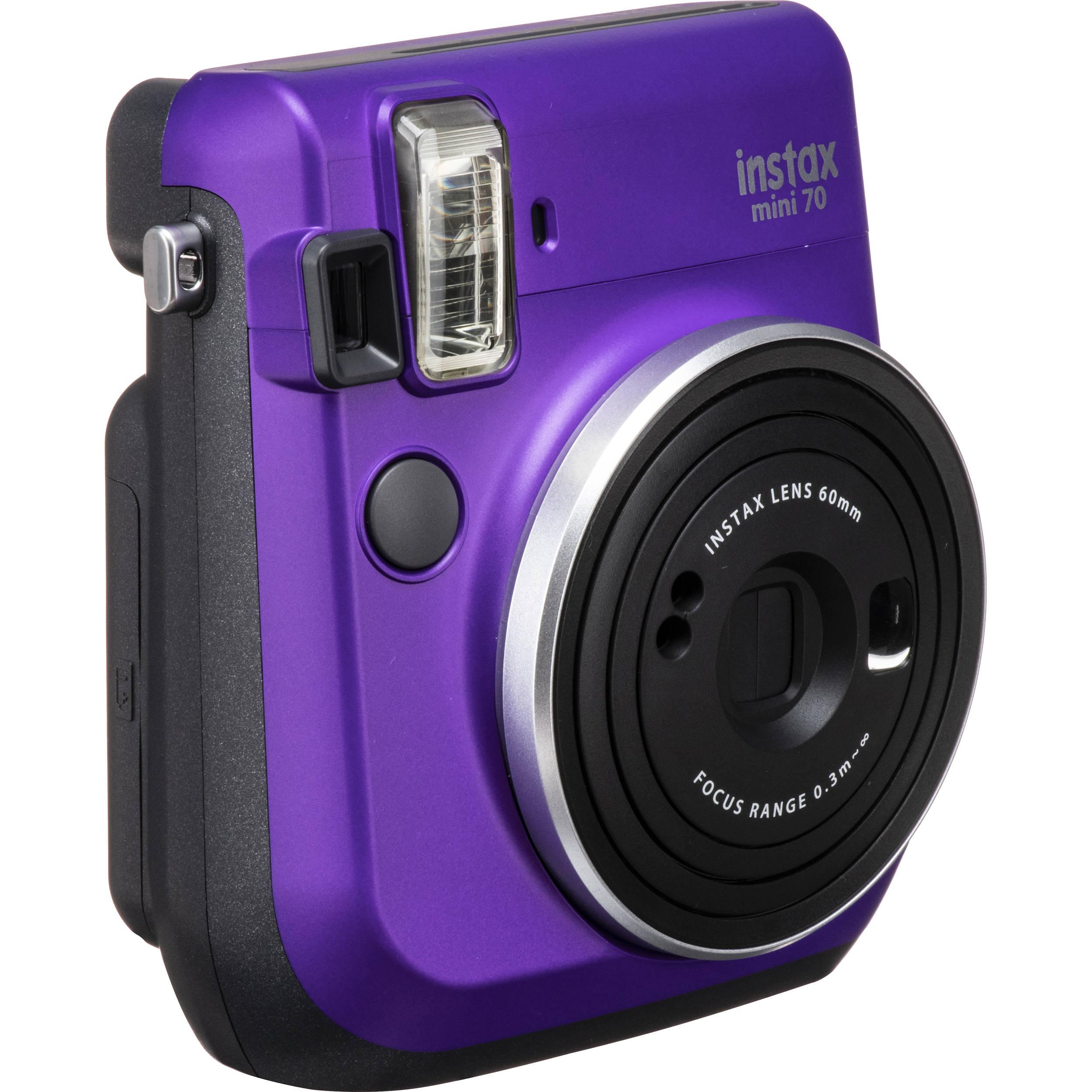 Fujifilm instax mini 70 Instant Film Camera (Black