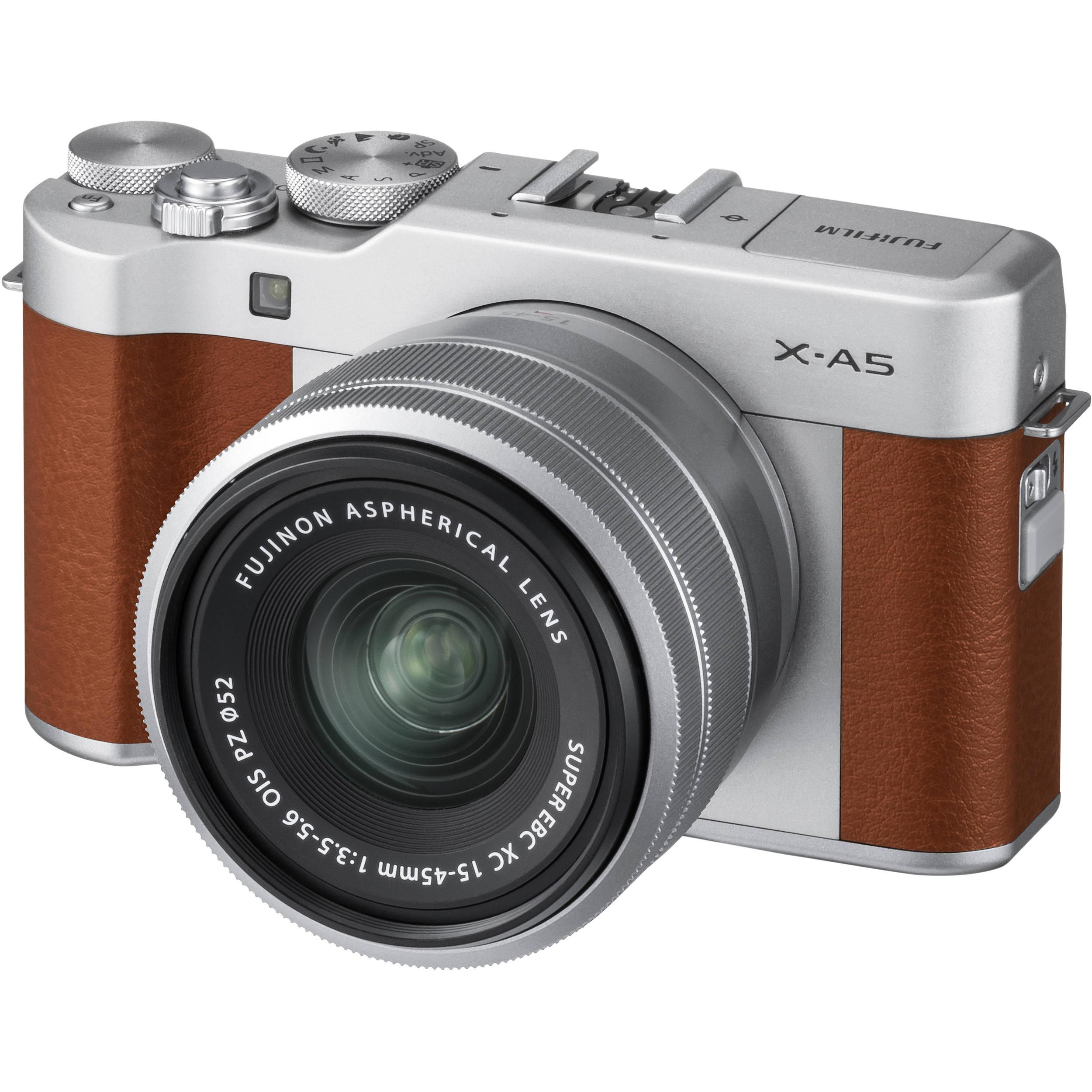 Fuji Camera: FUJIFILM X-A5 Mirrorless Digital Camera With 15-45mm 16568913