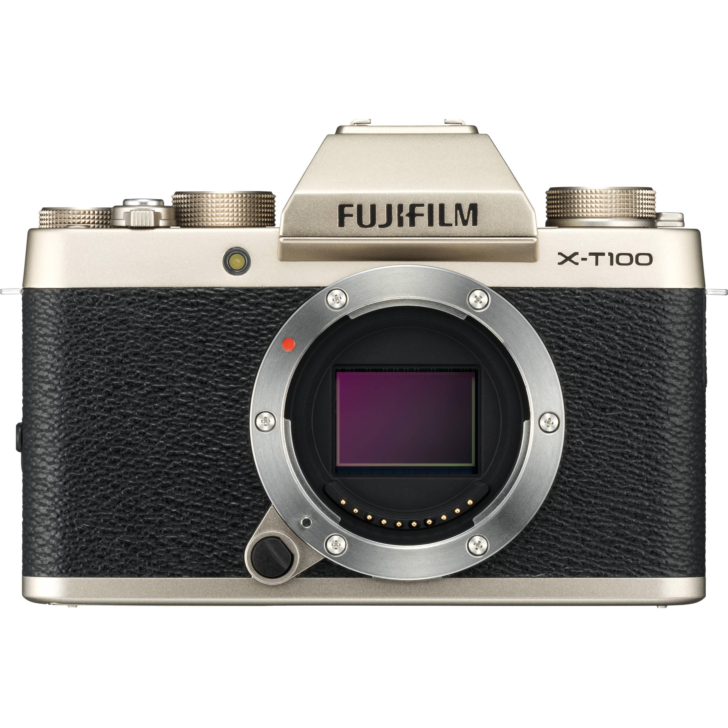 Fiji Xt Graphics Card Address Db Fujifilm Xt2 Body Only X T100 Mirrorless Digital Camera Champagne Gold