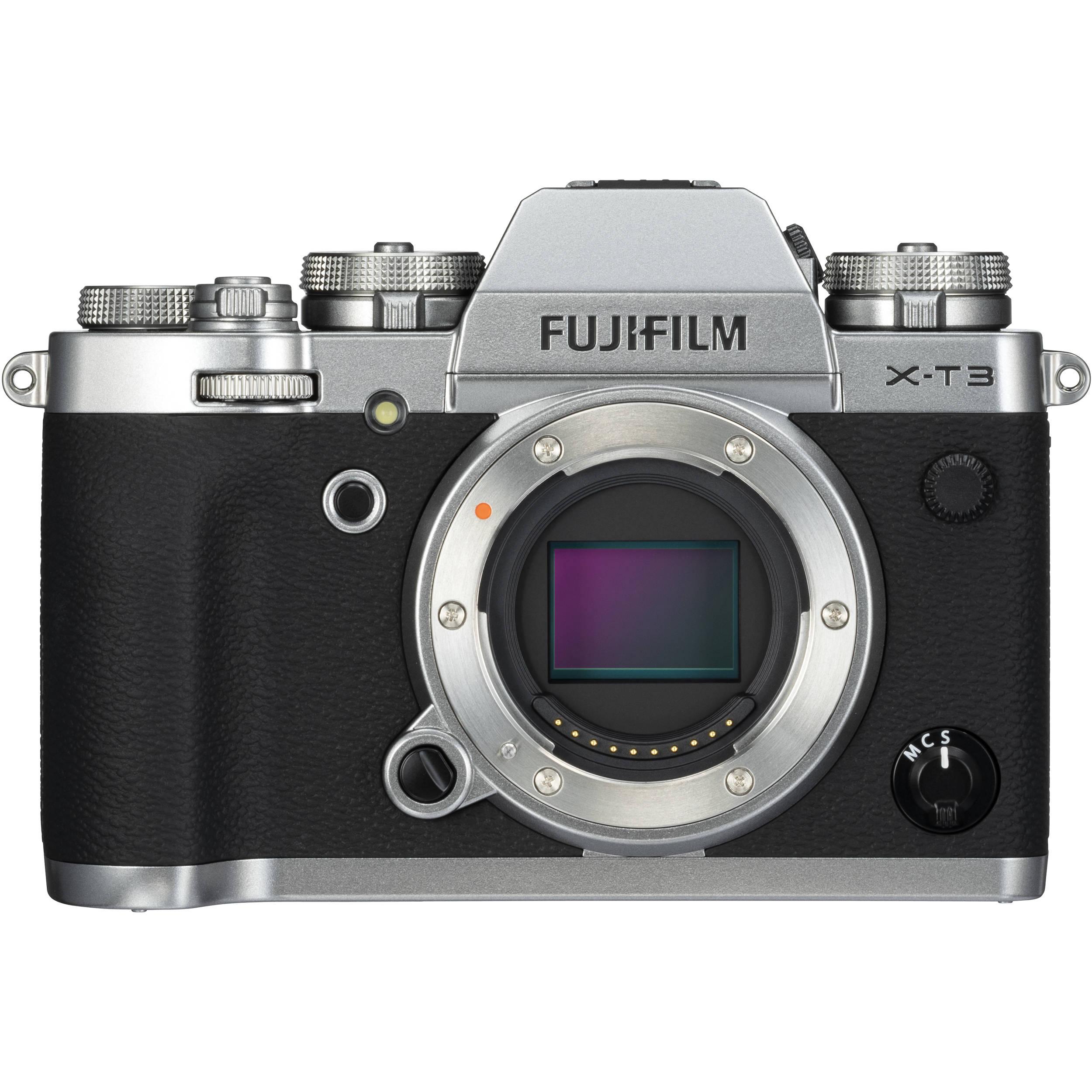 fujifilm x t3 mirrorless digital camera 16589058 b h photo video rh bhphotovideo com