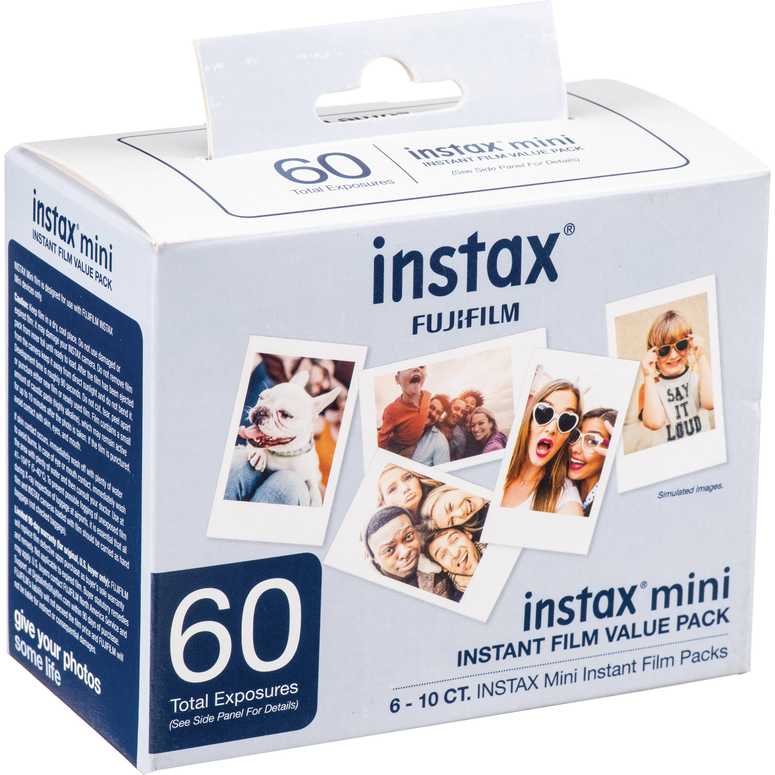 Fujifilm Instax Mini Instant Film 60 Exposures 600016111 B Amp H