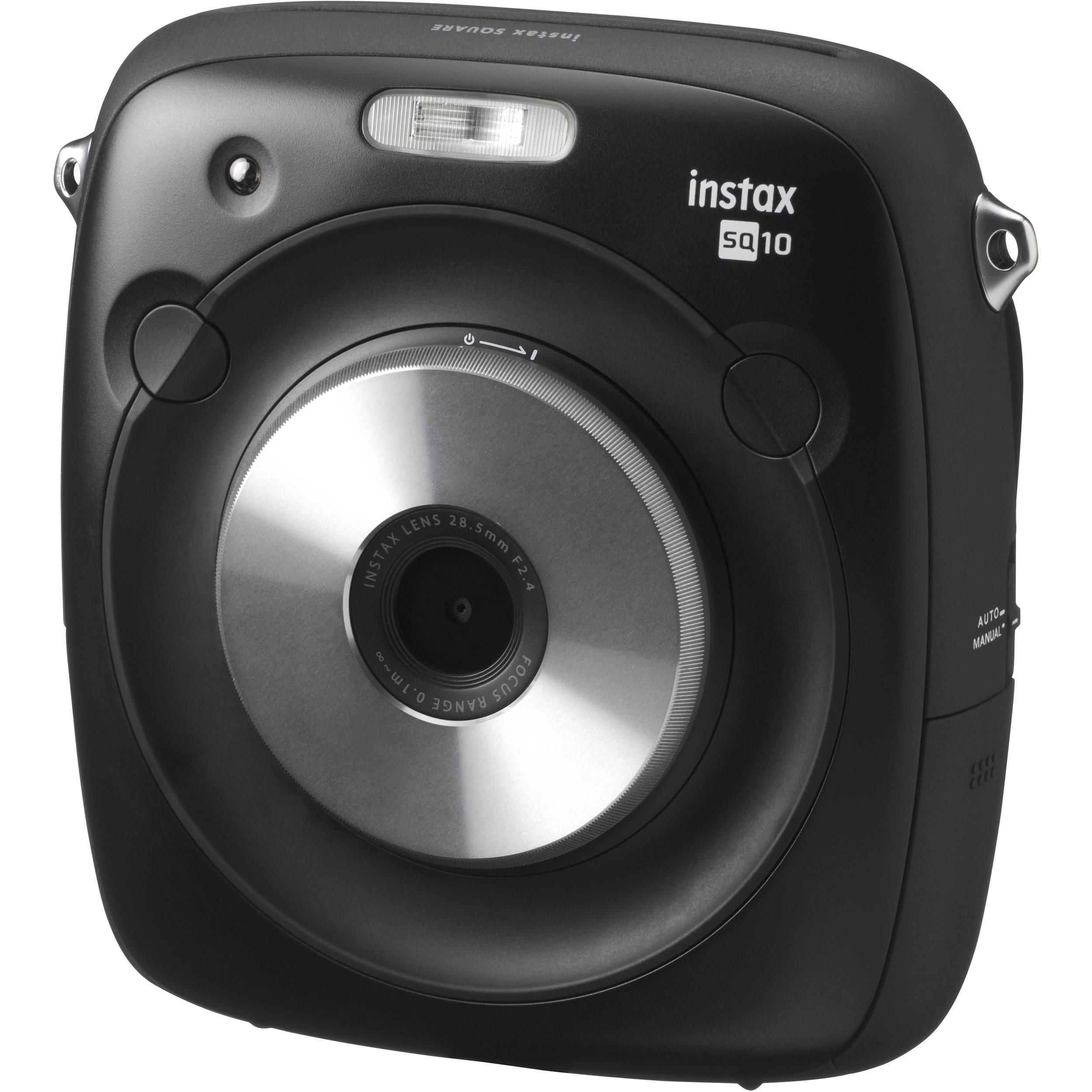 fujifilm instax square sq10 hybrid instant camera 600018496 b h. Black Bedroom Furniture Sets. Home Design Ideas