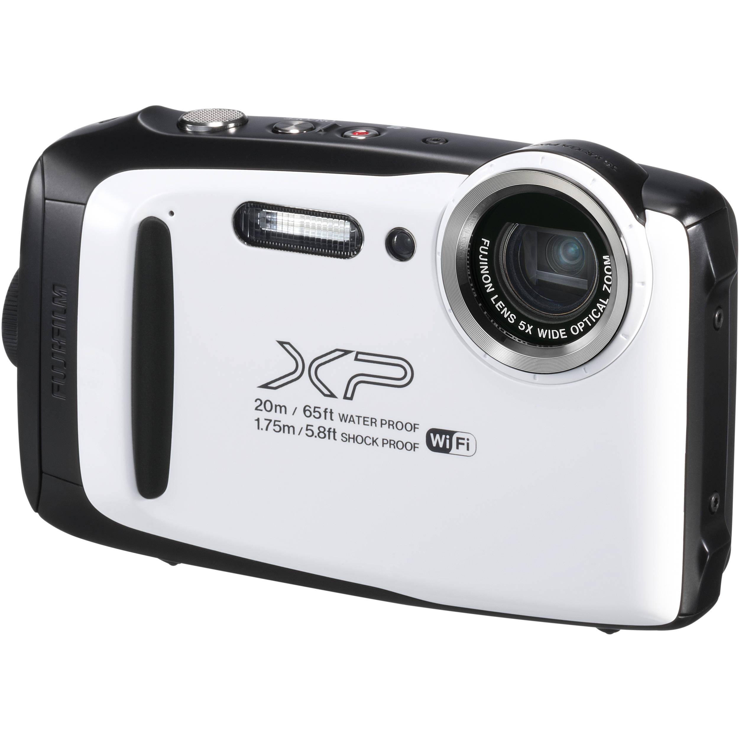 Fujifilm Finepix Xp130 Digital Camera White 600019827 B Amp H
