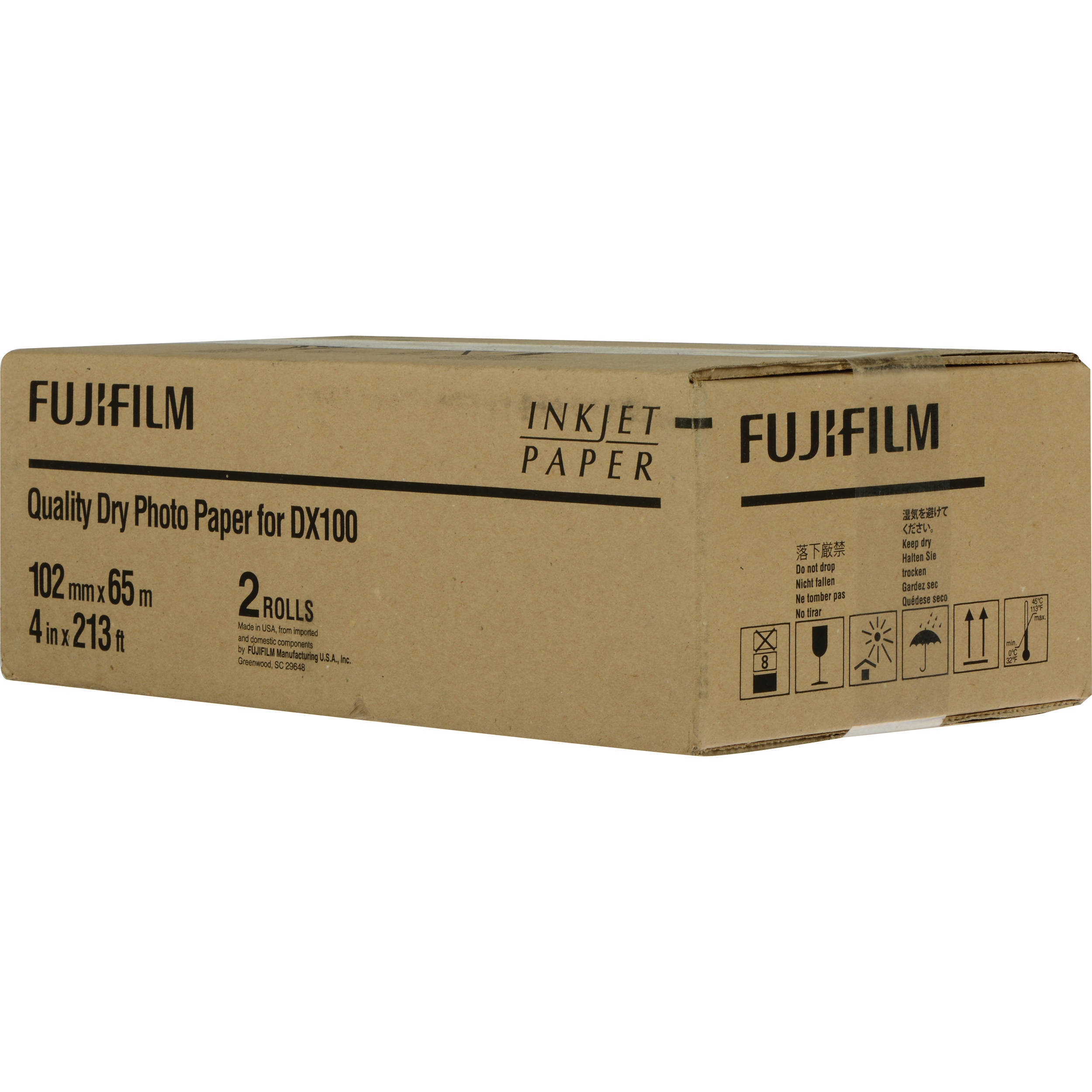 Fujifilm Quality Dry Photo Paper for Frontier-S DX100 7160485