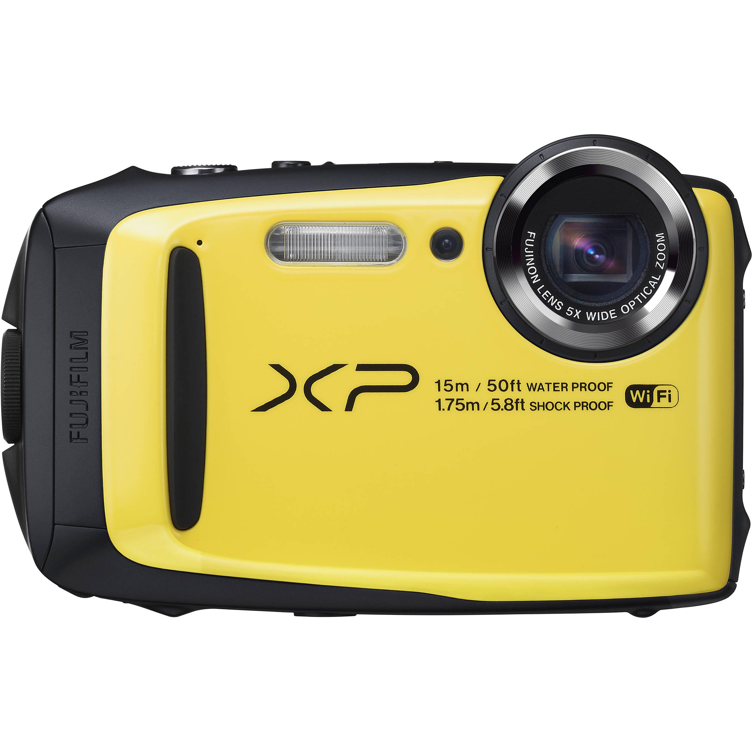 Fujifilm FinePix XP90 Digital Camera (Yellow) 16500466 B&H ...