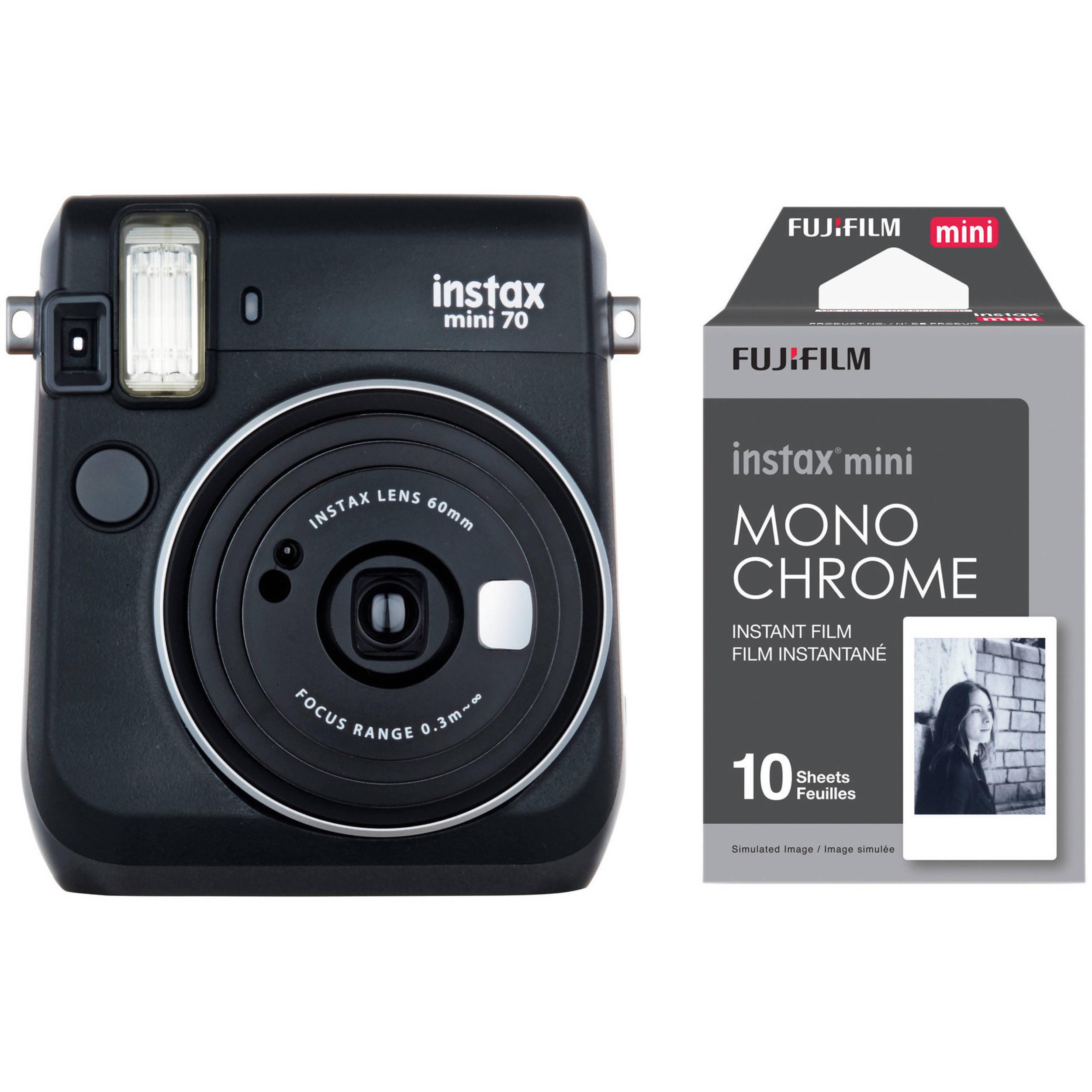 Fujifilm Instax Mini 70 Instant Camera Boasts Selfie Mode