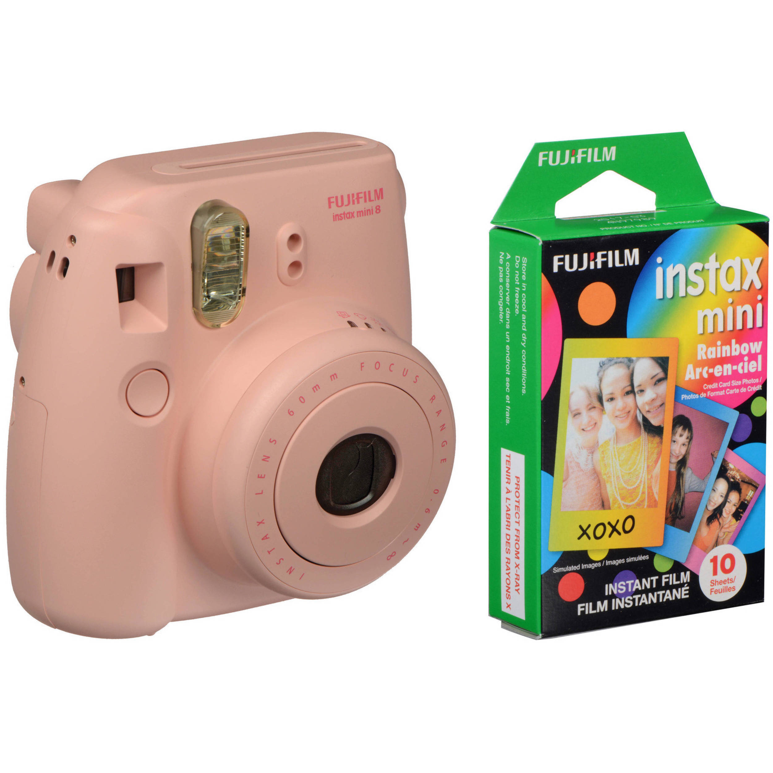 fujifilm instax mini 8 instant film camera 16273415 b h. Black Bedroom Furniture Sets. Home Design Ideas