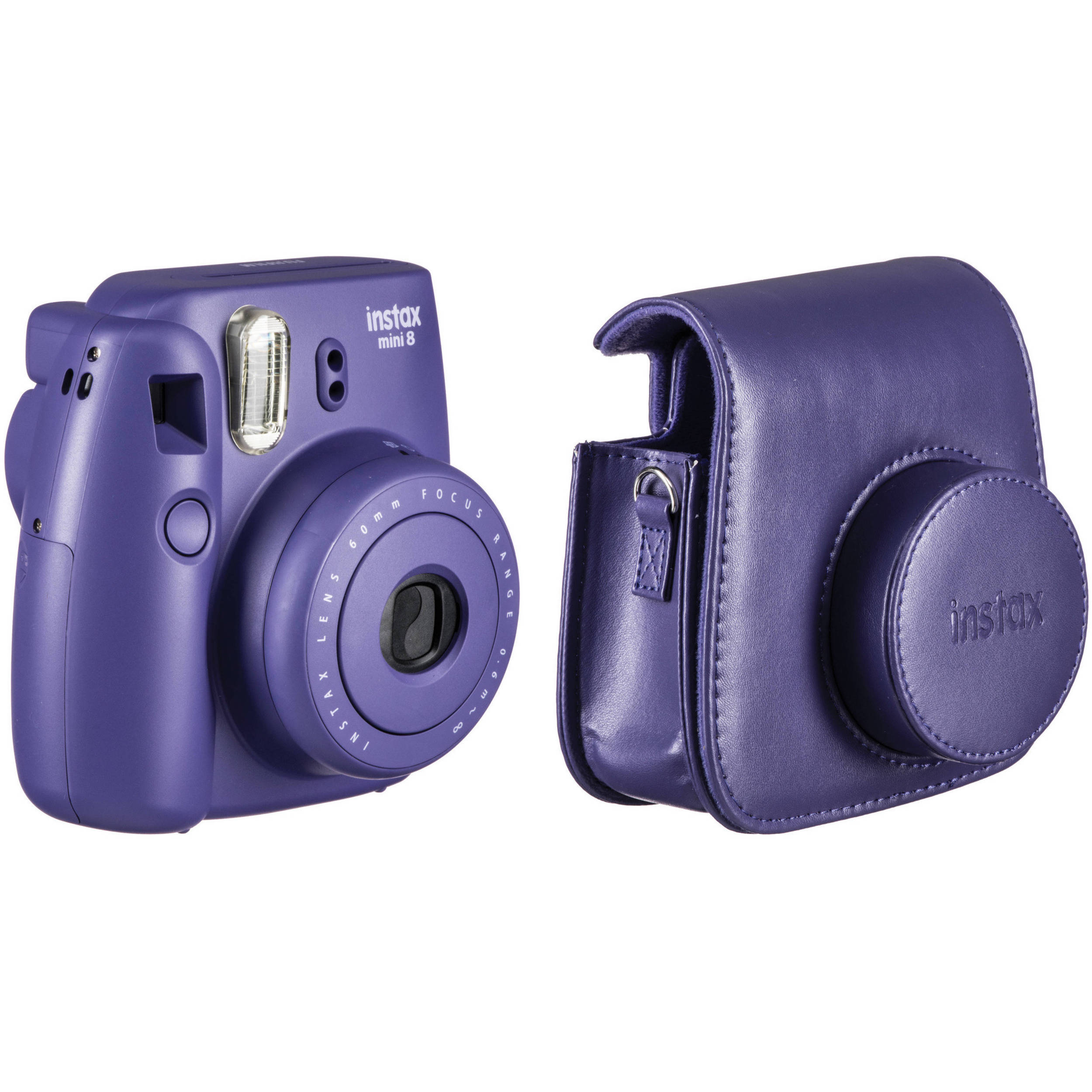 fujifilm instax mini 8 instant film camera and groovy case kit. Black Bedroom Furniture Sets. Home Design Ideas