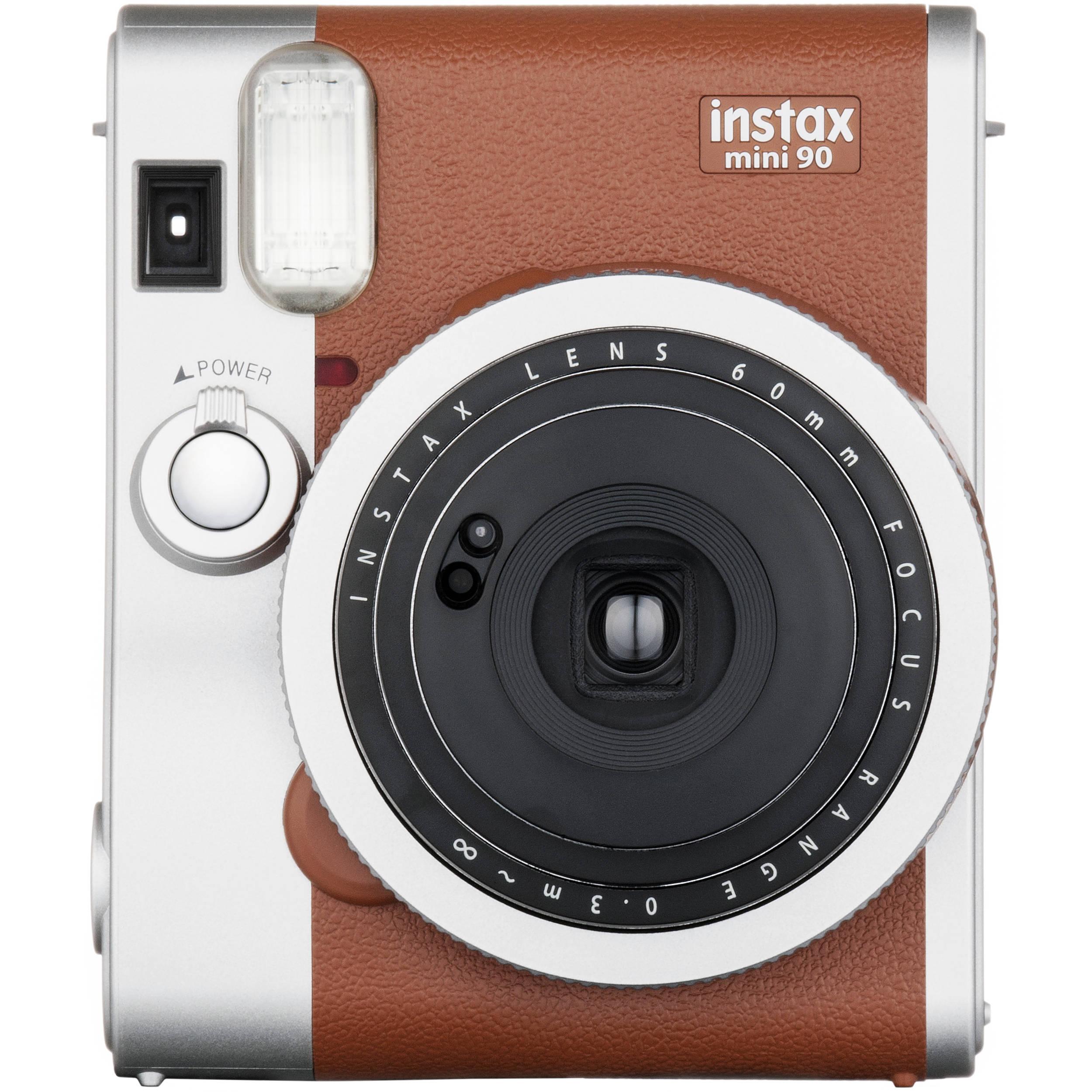 Fujifilm INSTAX Mini 90 Neo Classic Instant Camera 16423917 B&H