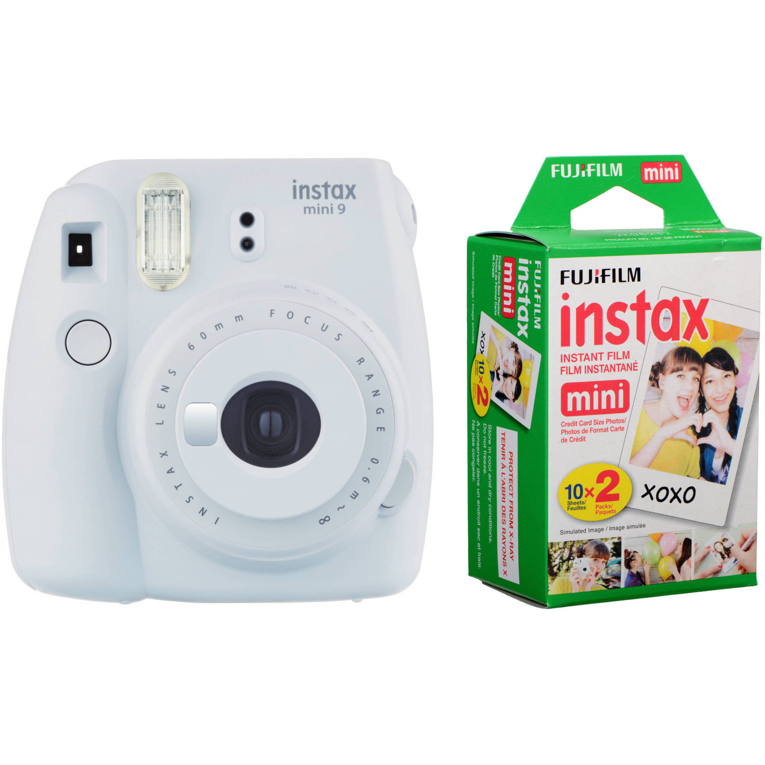 Fujifilm instax mini 9 Instant Film Camera with Instant Film B&H
