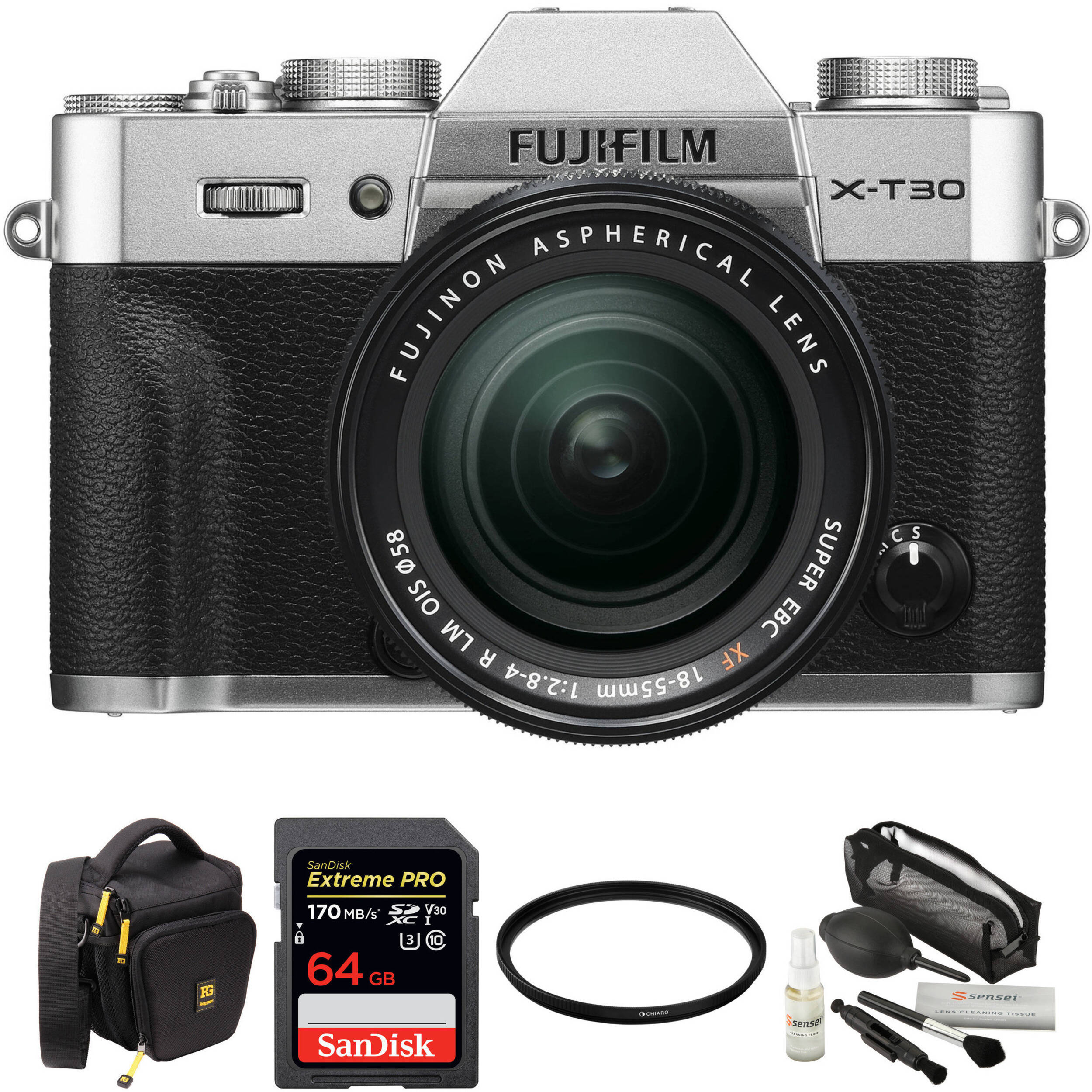 Fuji X Wedding Photography: FUJIFILM X-T30 Mirrorless Digital Camera With 18-55mm Lens And
