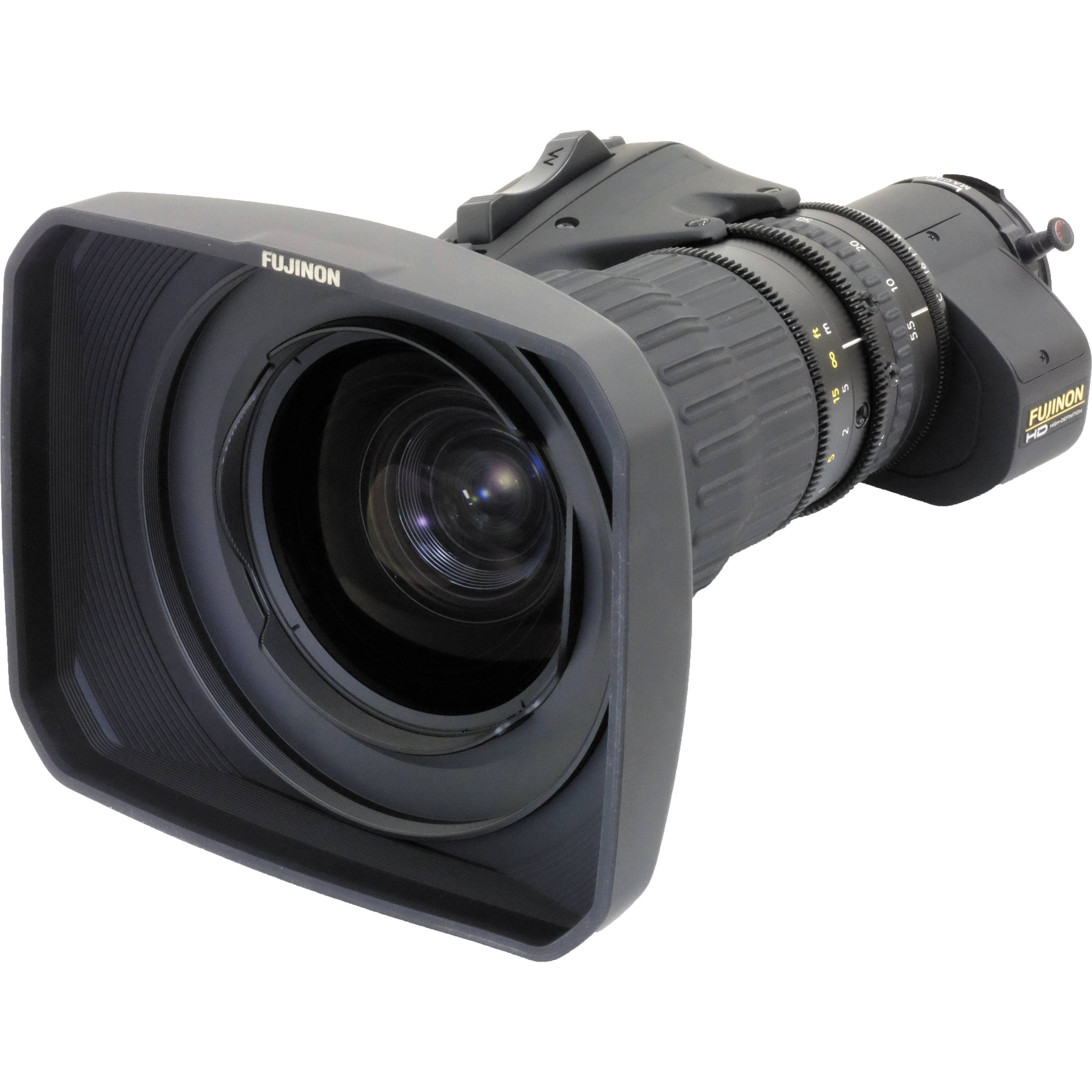 Fujinon HA18X5.5BERM-M6 Premier Series ENG/EFP Lens with Manual Focus,