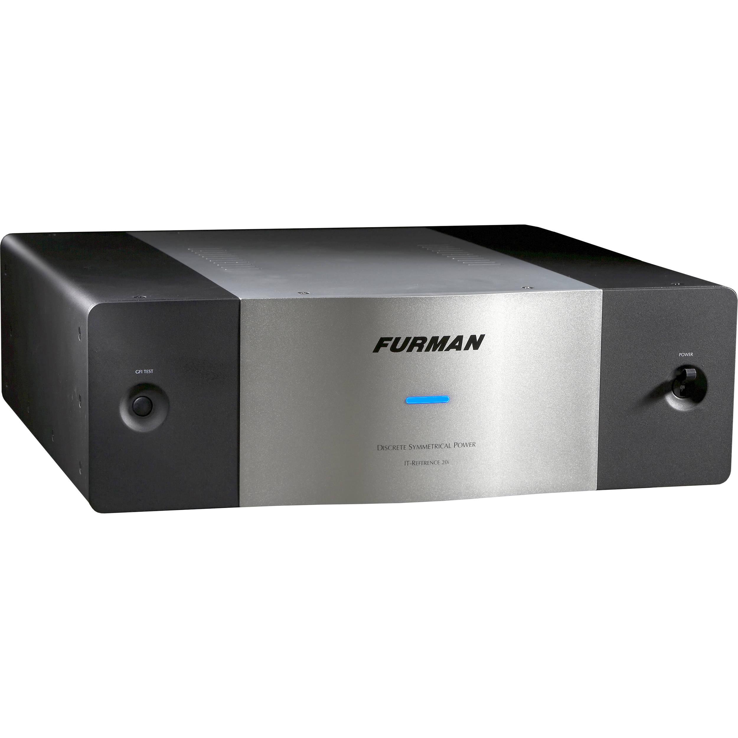furman it ref 20i it reference 20i discrete symmetrical