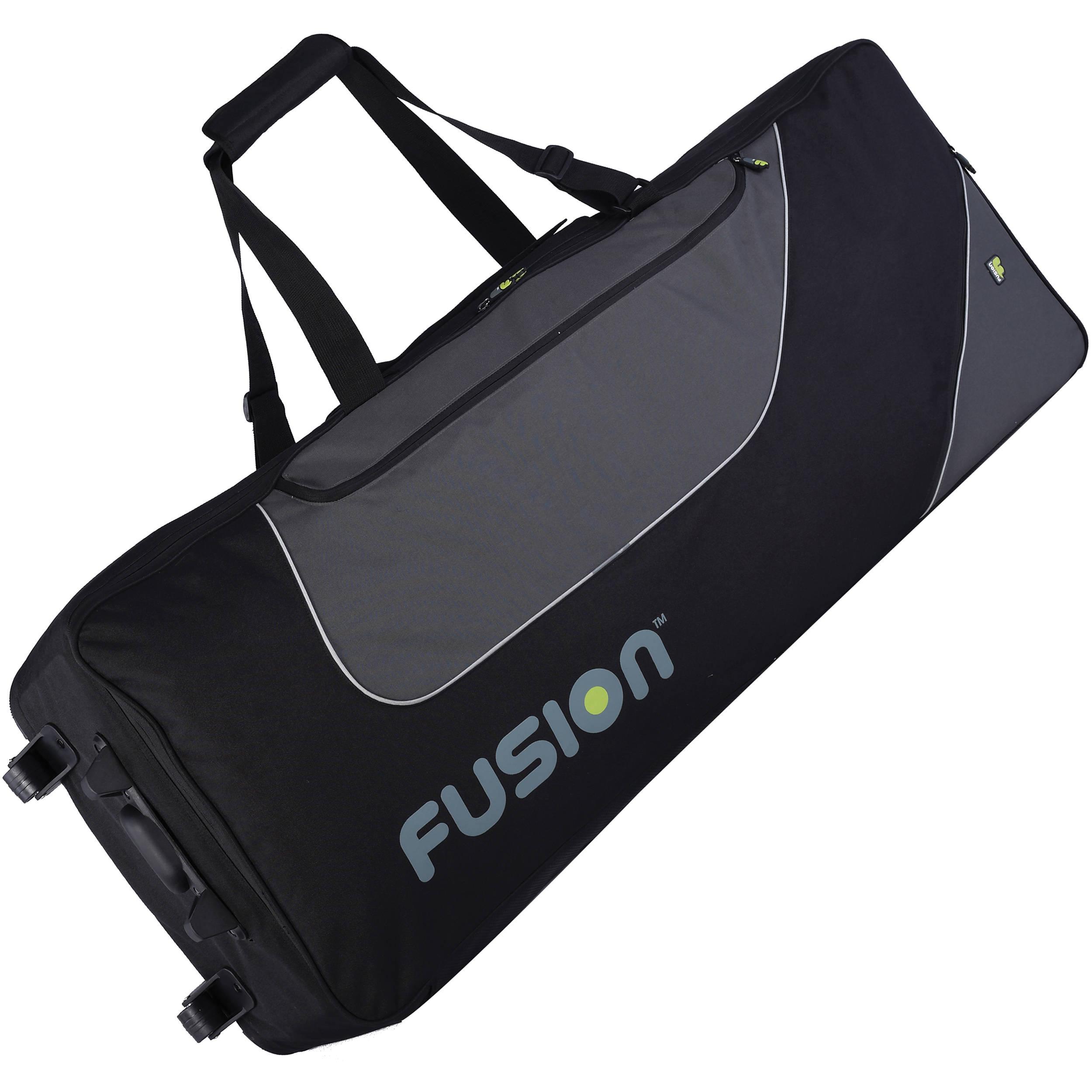 Fusion Bags Keyboard 12 Gig Bag With Wheels 76 88 Keys