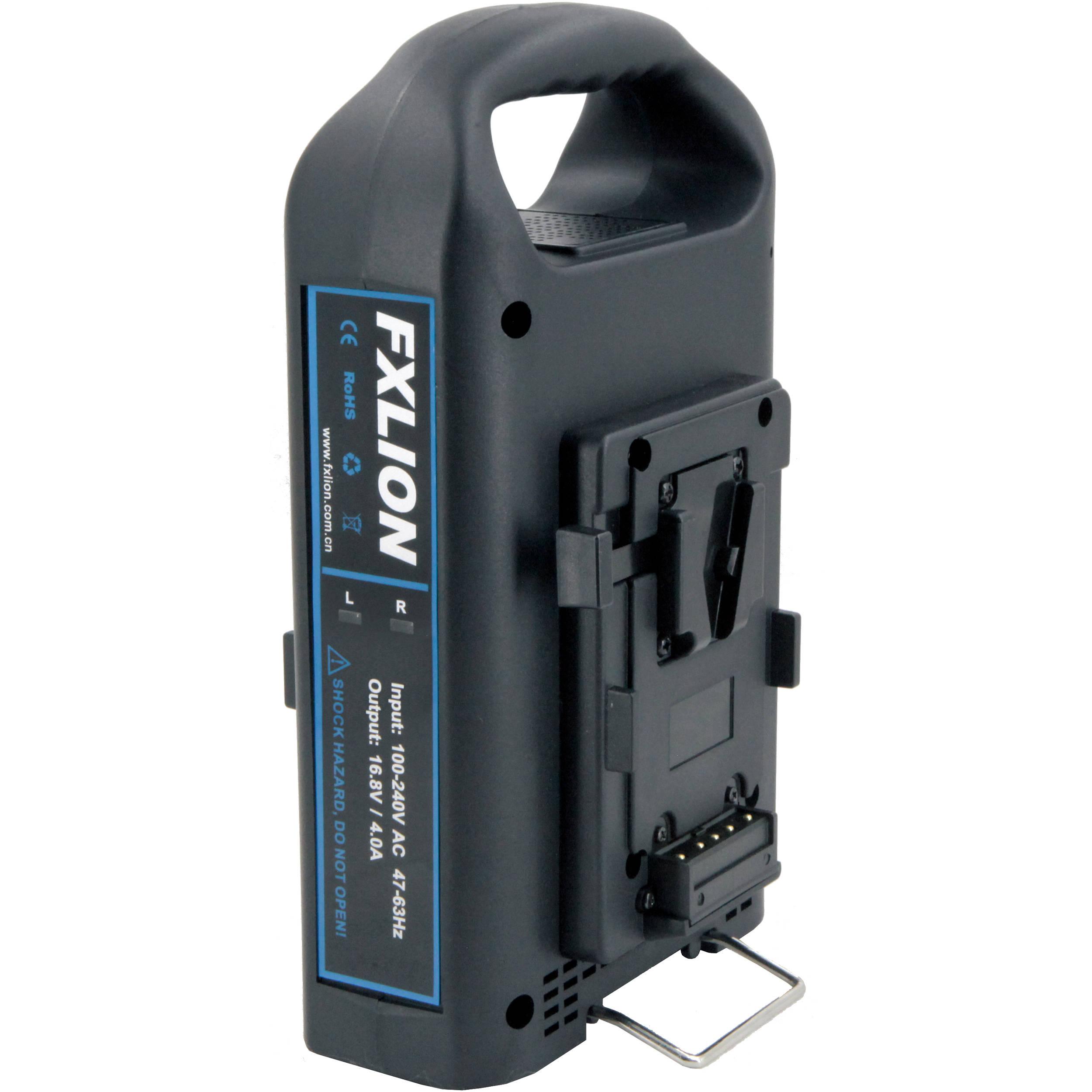 Fxlion Dual Channel V Mount Fast Battery Charger Fxlion
