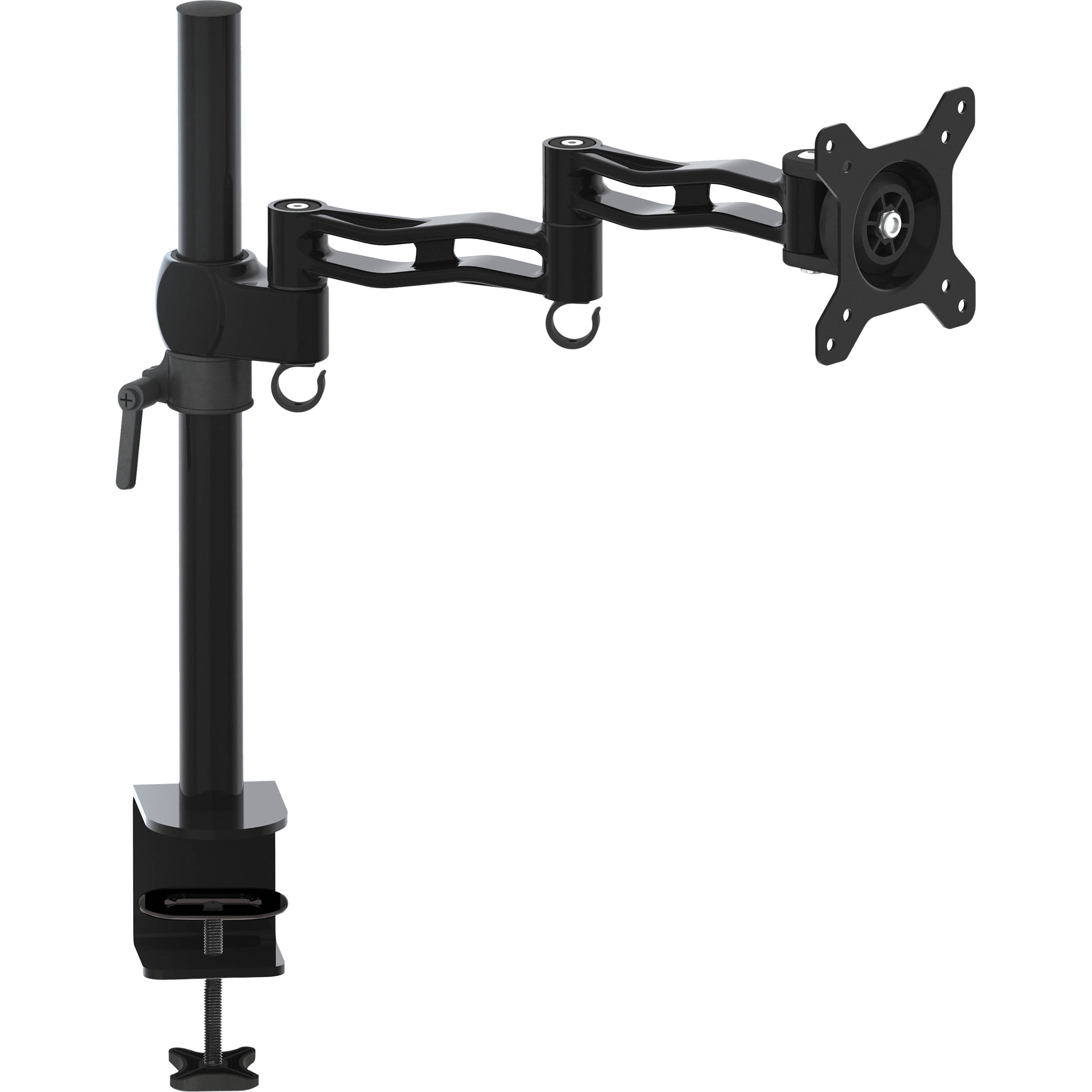 Gabor Md Ad13mb Lcd Monitor Desktop Mount With Articulating Arm Black