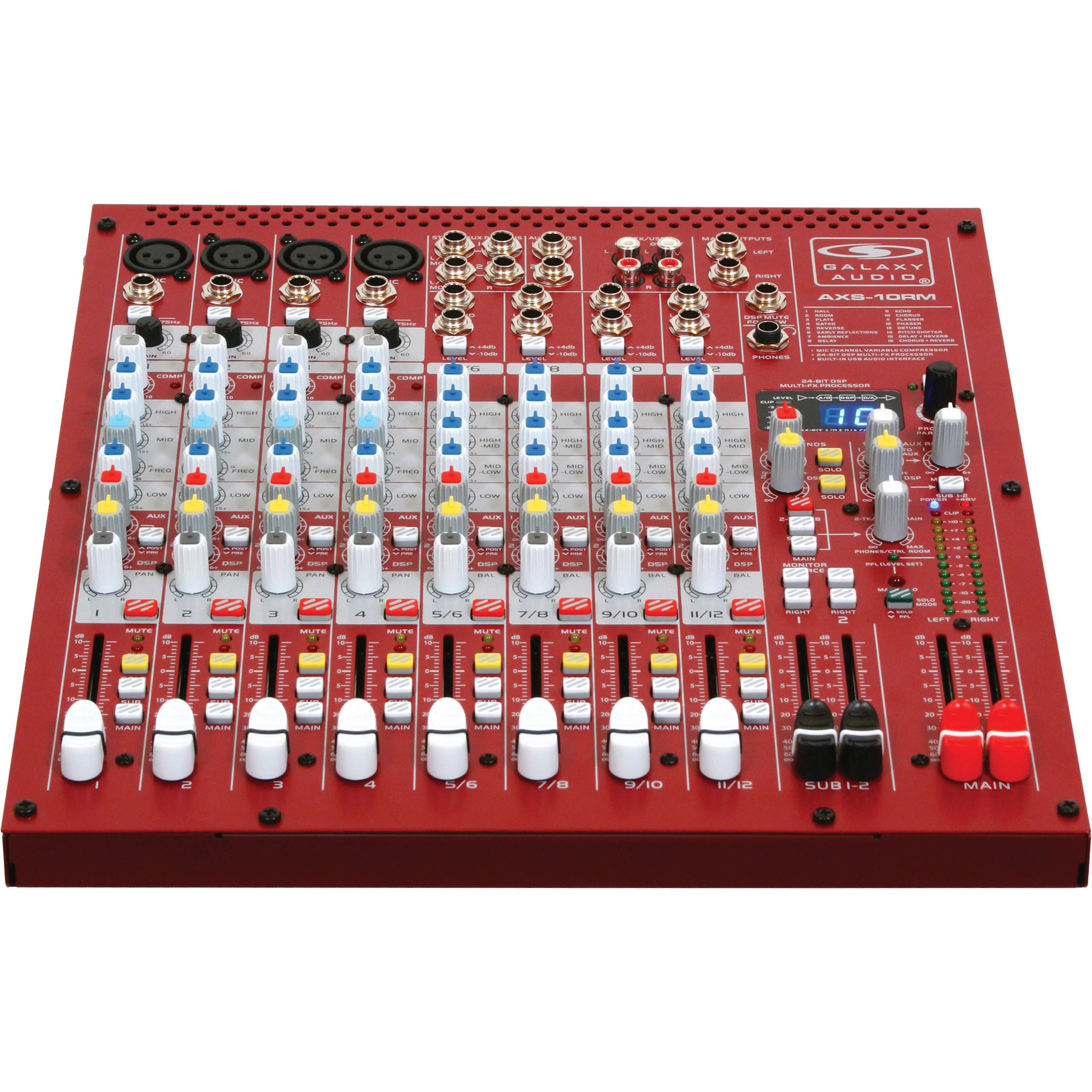esam mixers products rack analogue ecler installation series preamps audio front multi mixer analog mount zone detail