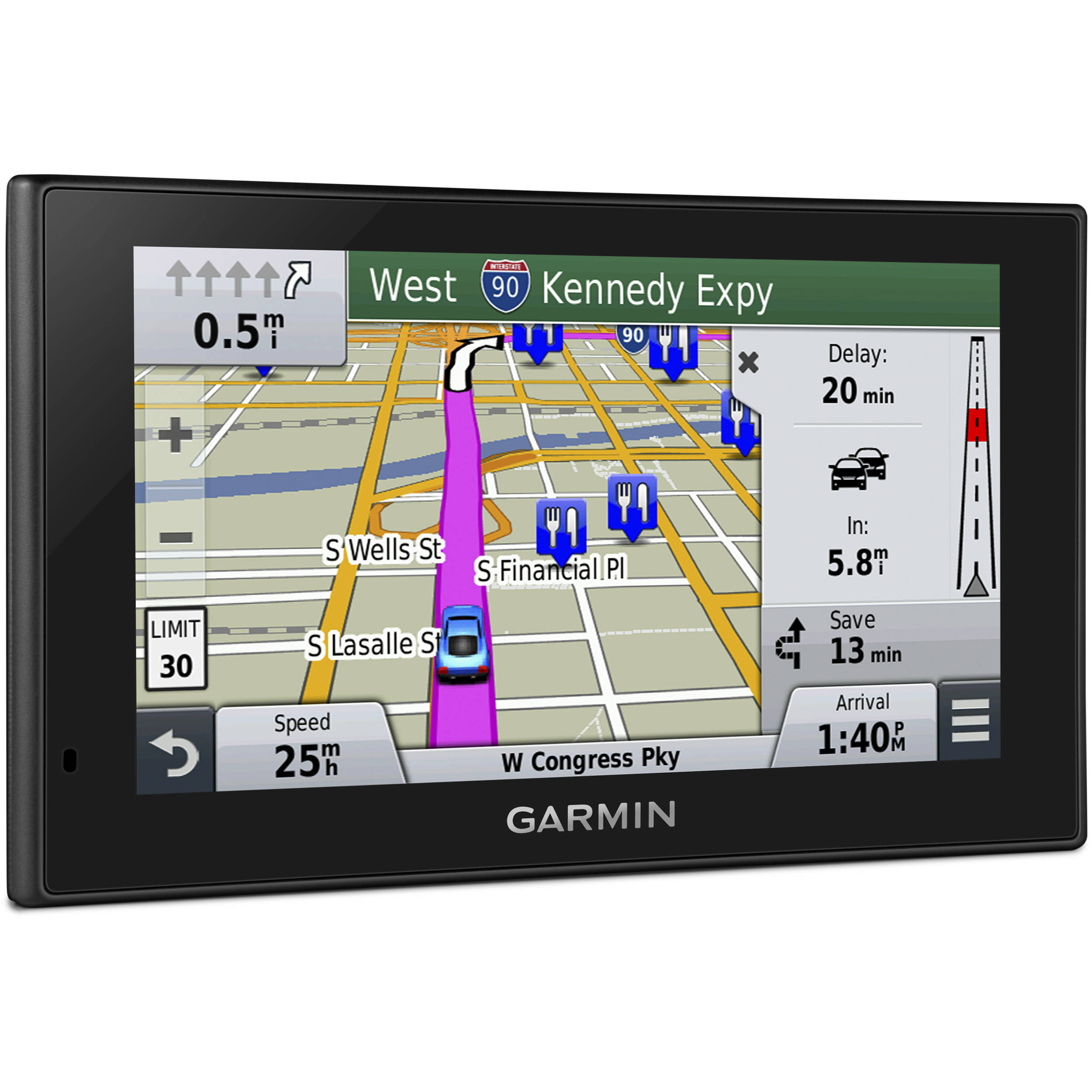 Garmin Nuvi Lmt Gps With North America Maps