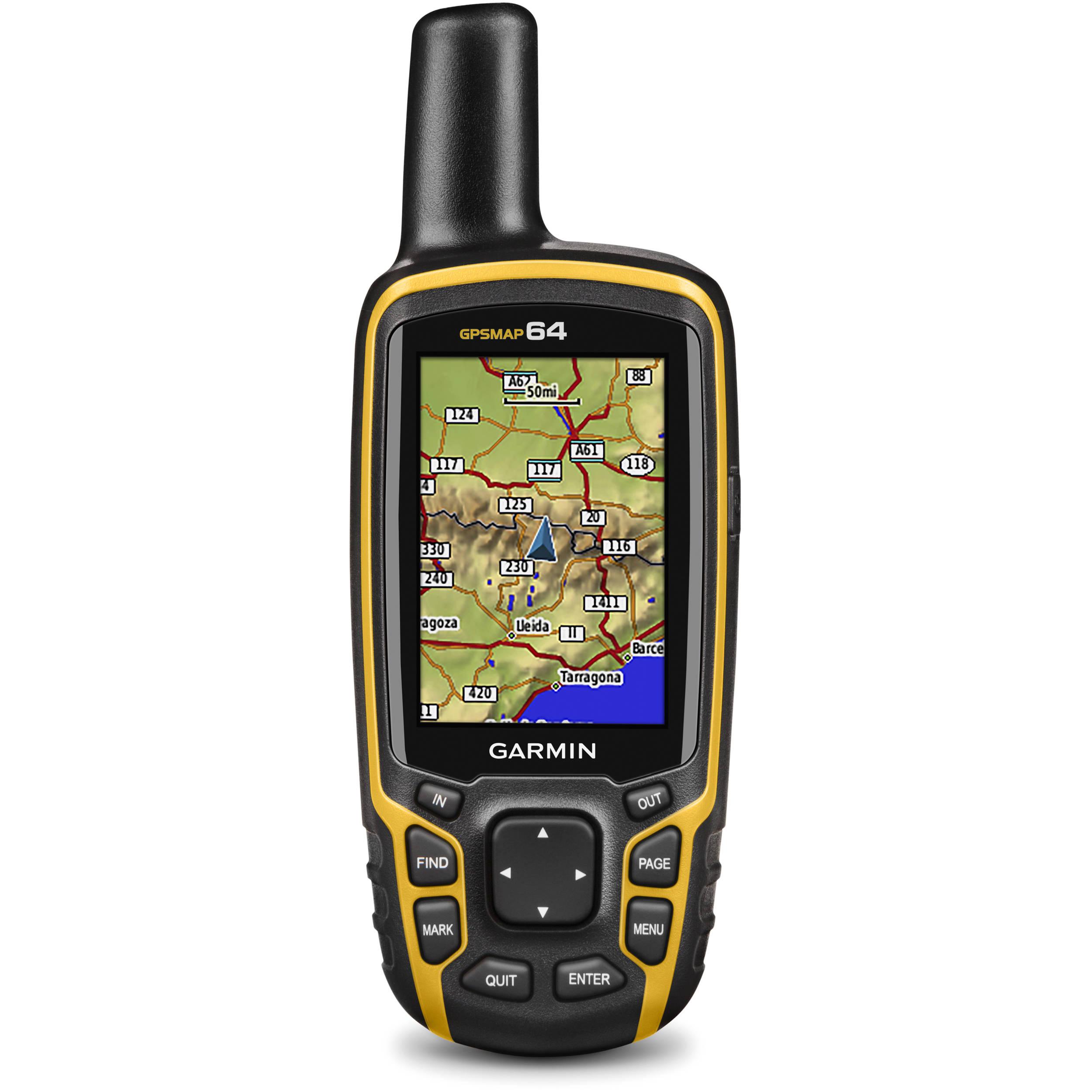 Garmin GPSMAP 64 Handheld GPS 010-01199-00 B&H Photo Video