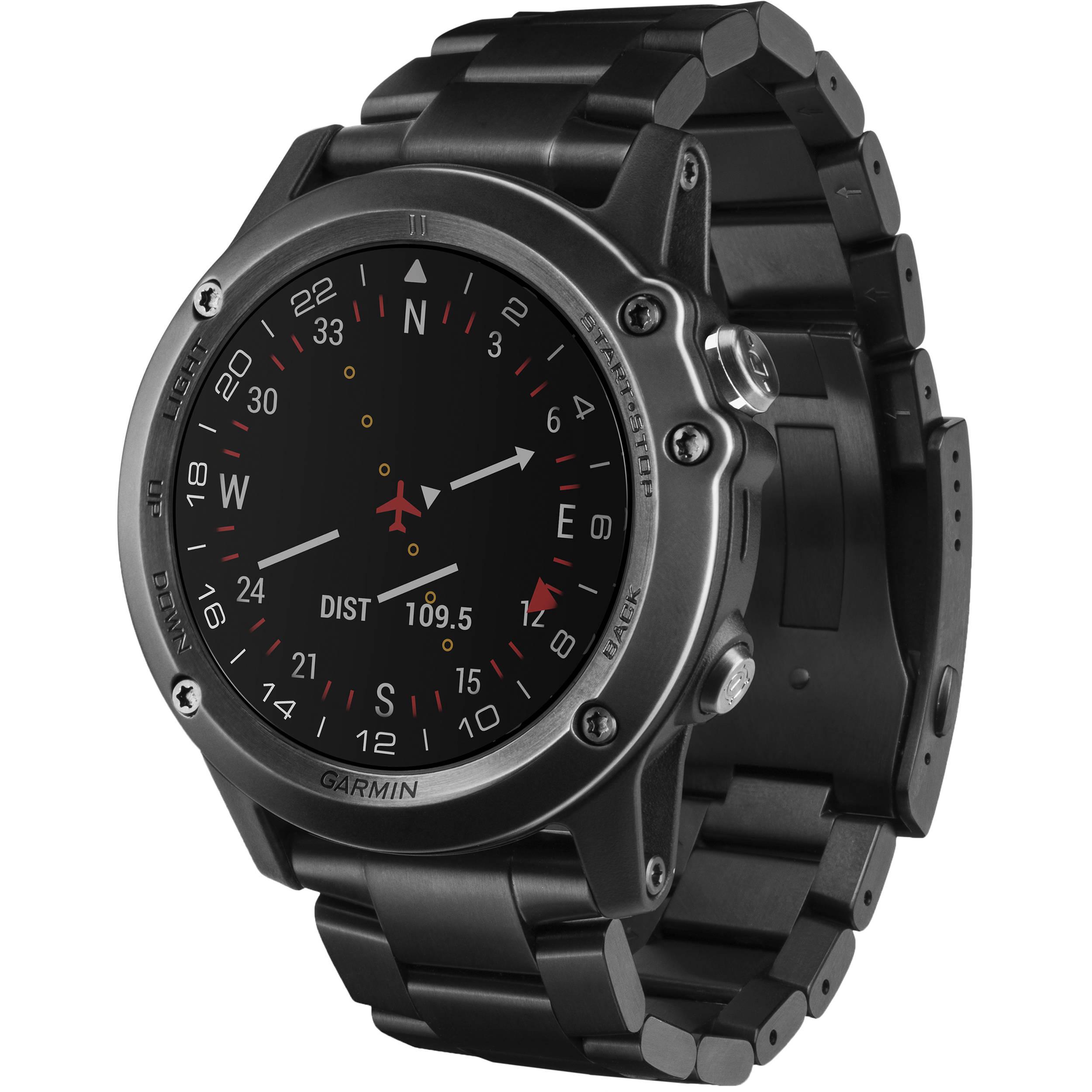4f7d4c6f935 Garmin D2 Bravo GPS Aviator Navigation Watch 010-01338-36 B H