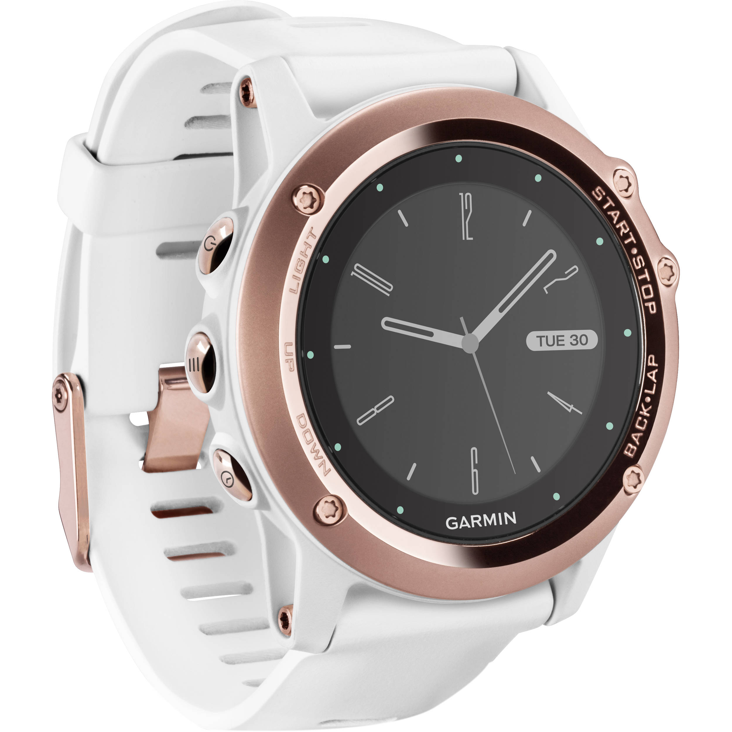 watch white garmin gray products sapphire multisport r hr fenix champagne gps in