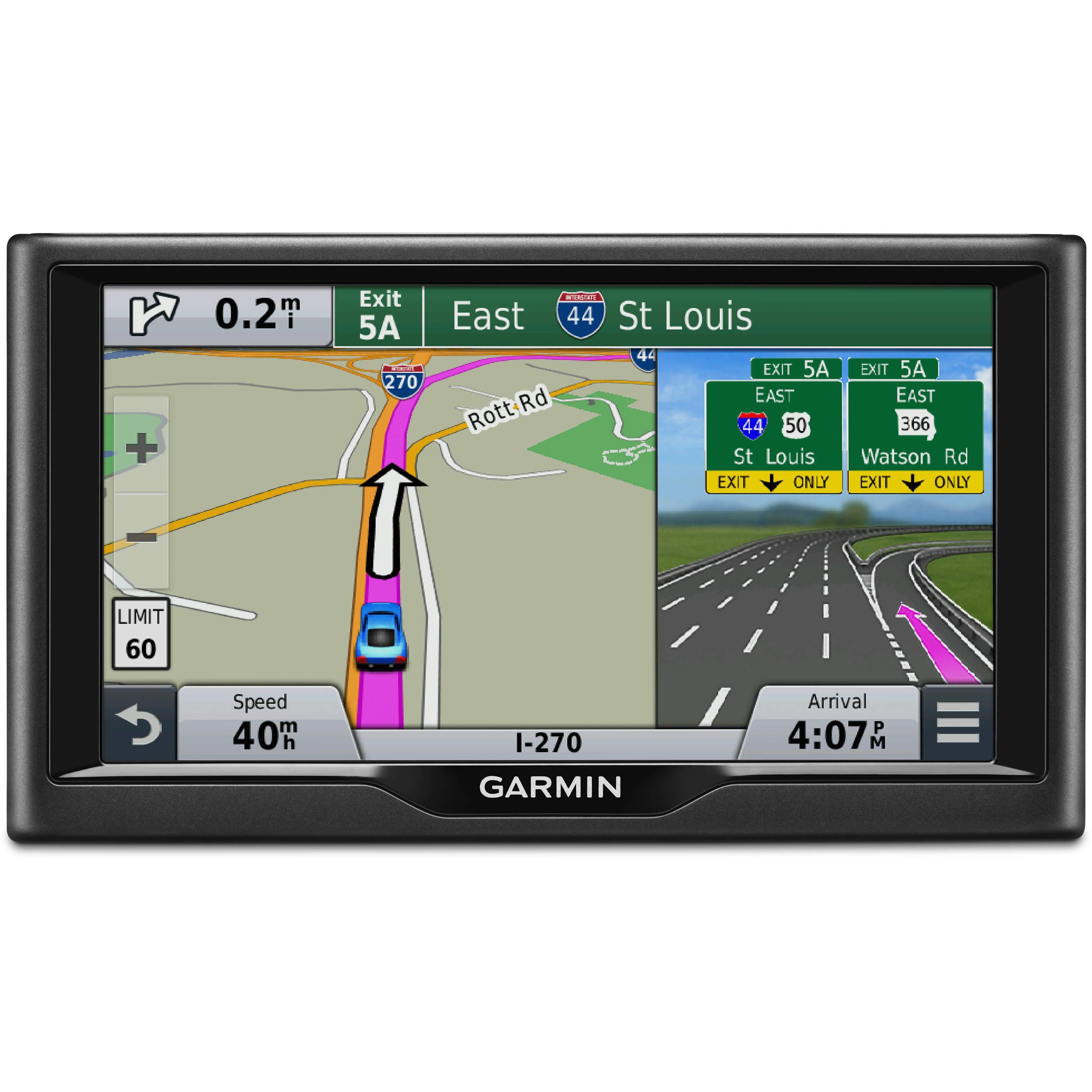 garmin nuvi 67lm gps car navigation system 010 01399 01 b h. Black Bedroom Furniture Sets. Home Design Ideas