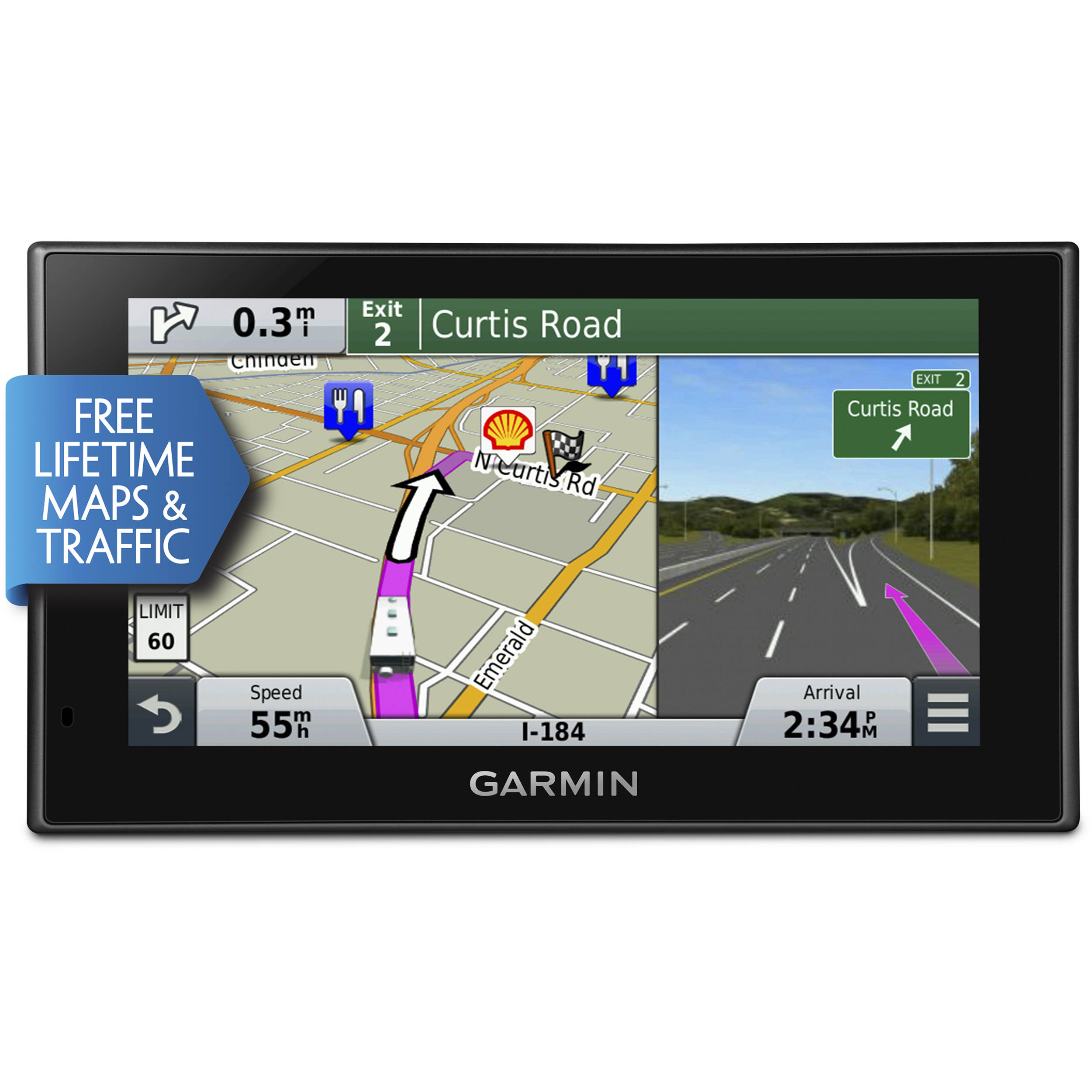garmin rv 660lmt gps with north america maps 010 01535 00 b h. Black Bedroom Furniture Sets. Home Design Ideas