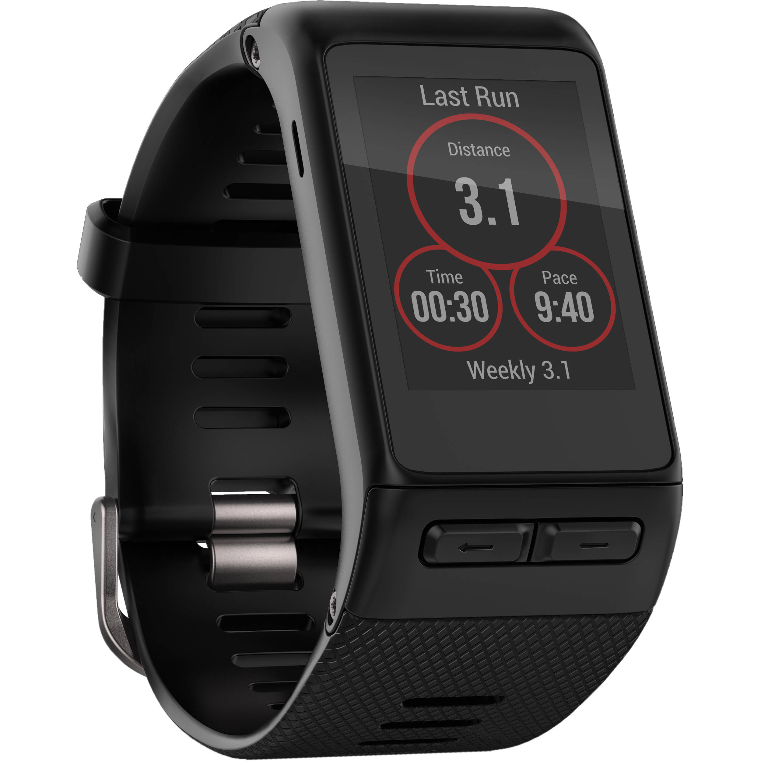 Garmin vivoactive hr sport watch regular band 010 01605 03 b h for Watches garmin