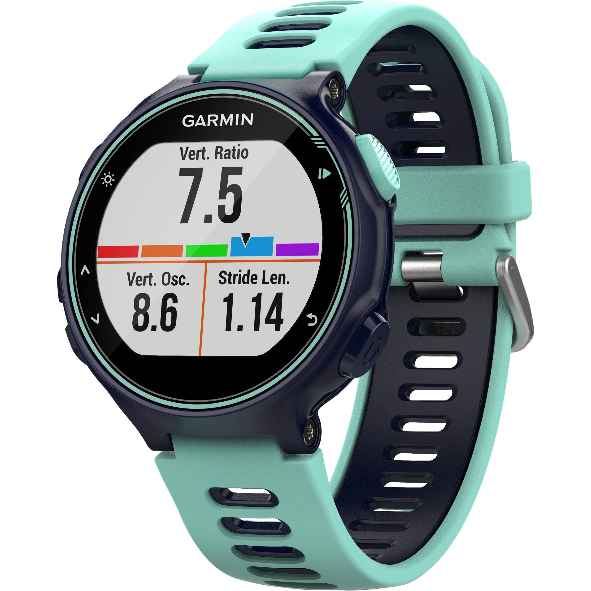 Garmin Sports Watch >> Garmin Forerunner 735xt Sport Watch 010 01614 01 B H Photo Video