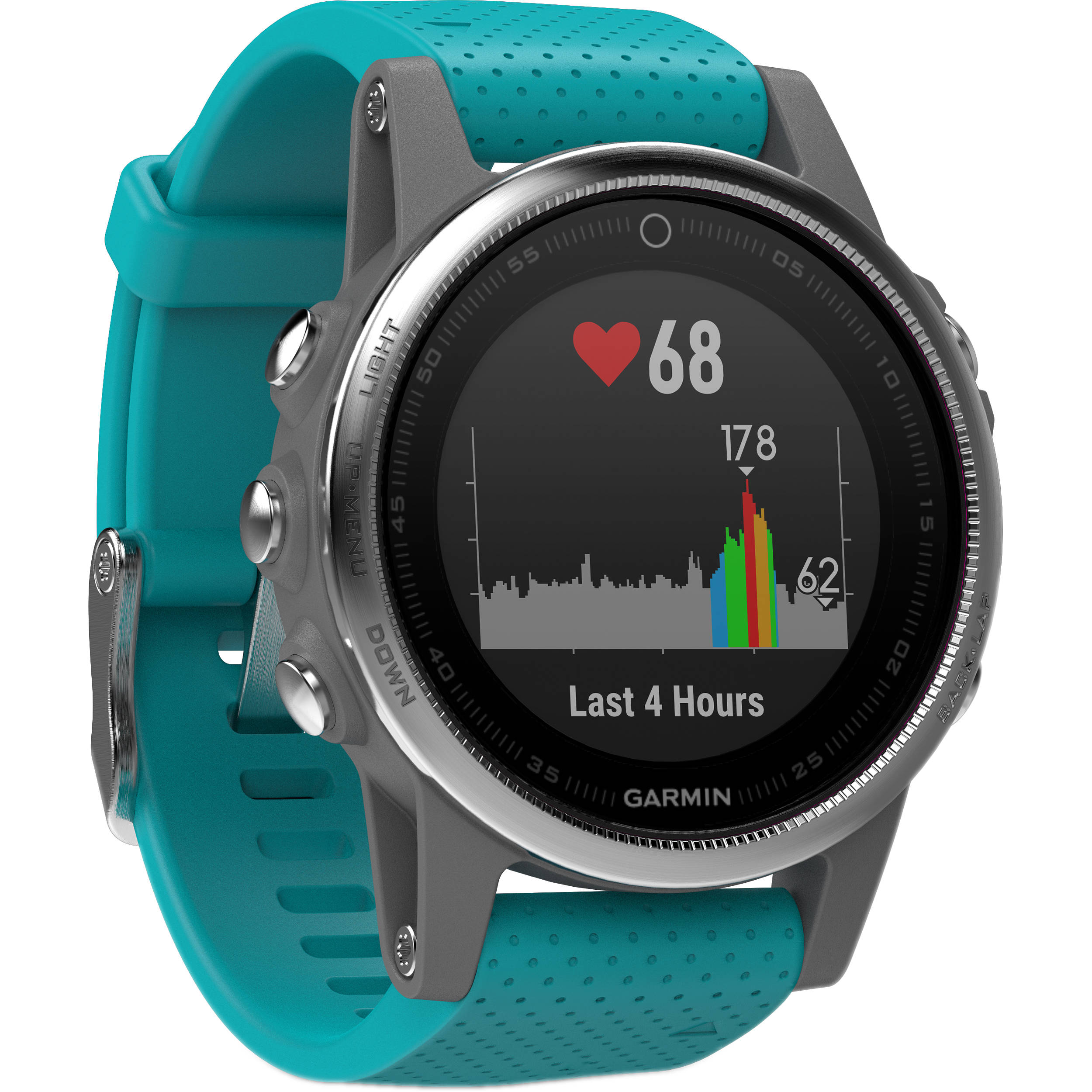 watches granite garmin hr products fenix gps blue r in silver multisport watch sportique