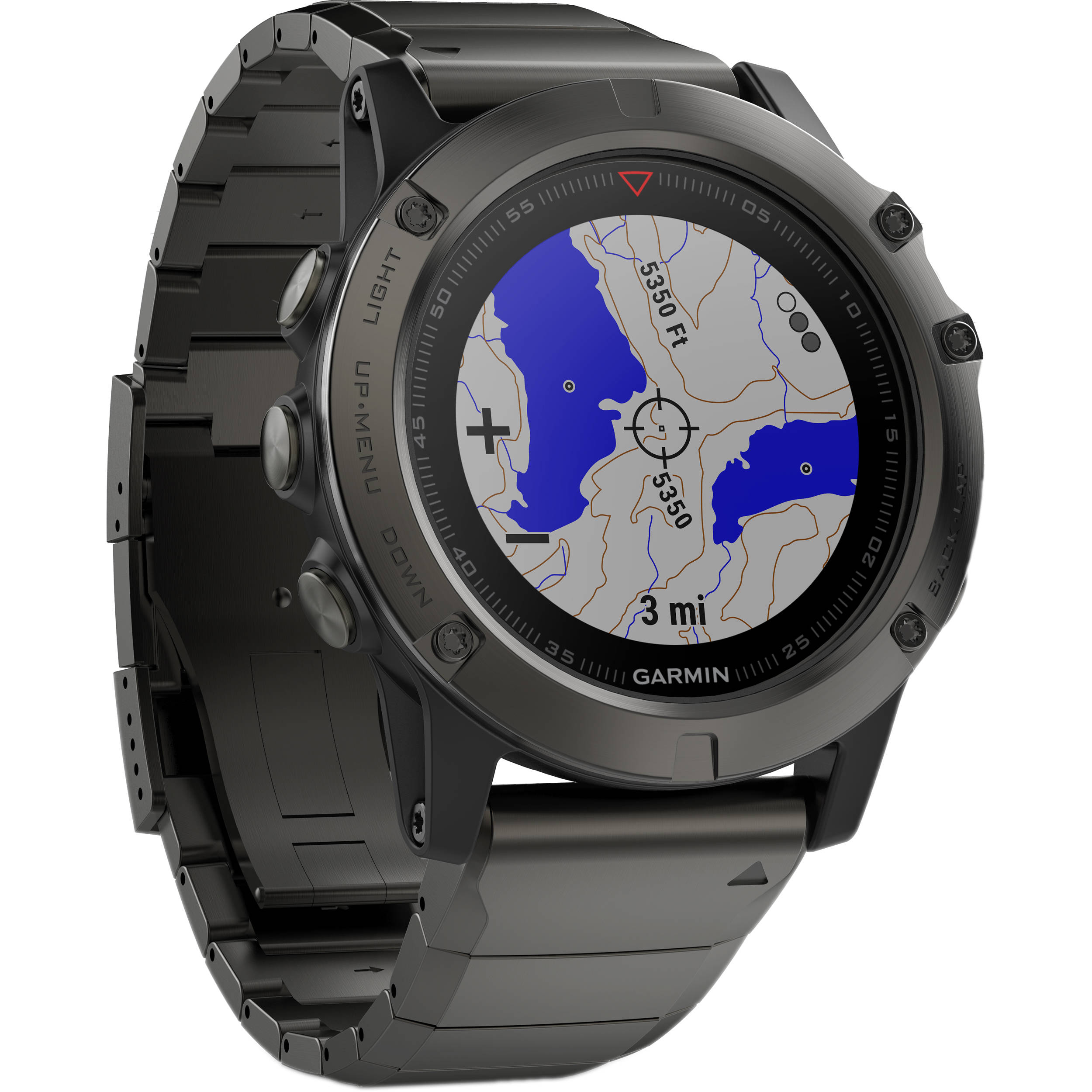bluetooth garmin alarm watch fenix sapphire mens