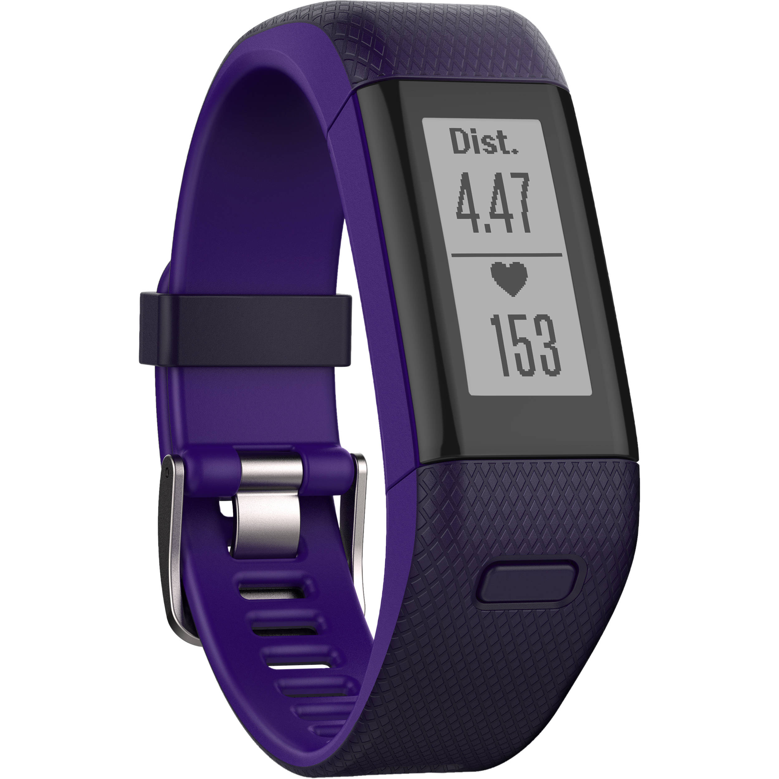 how to get email notifications on garmin vivosmart hr