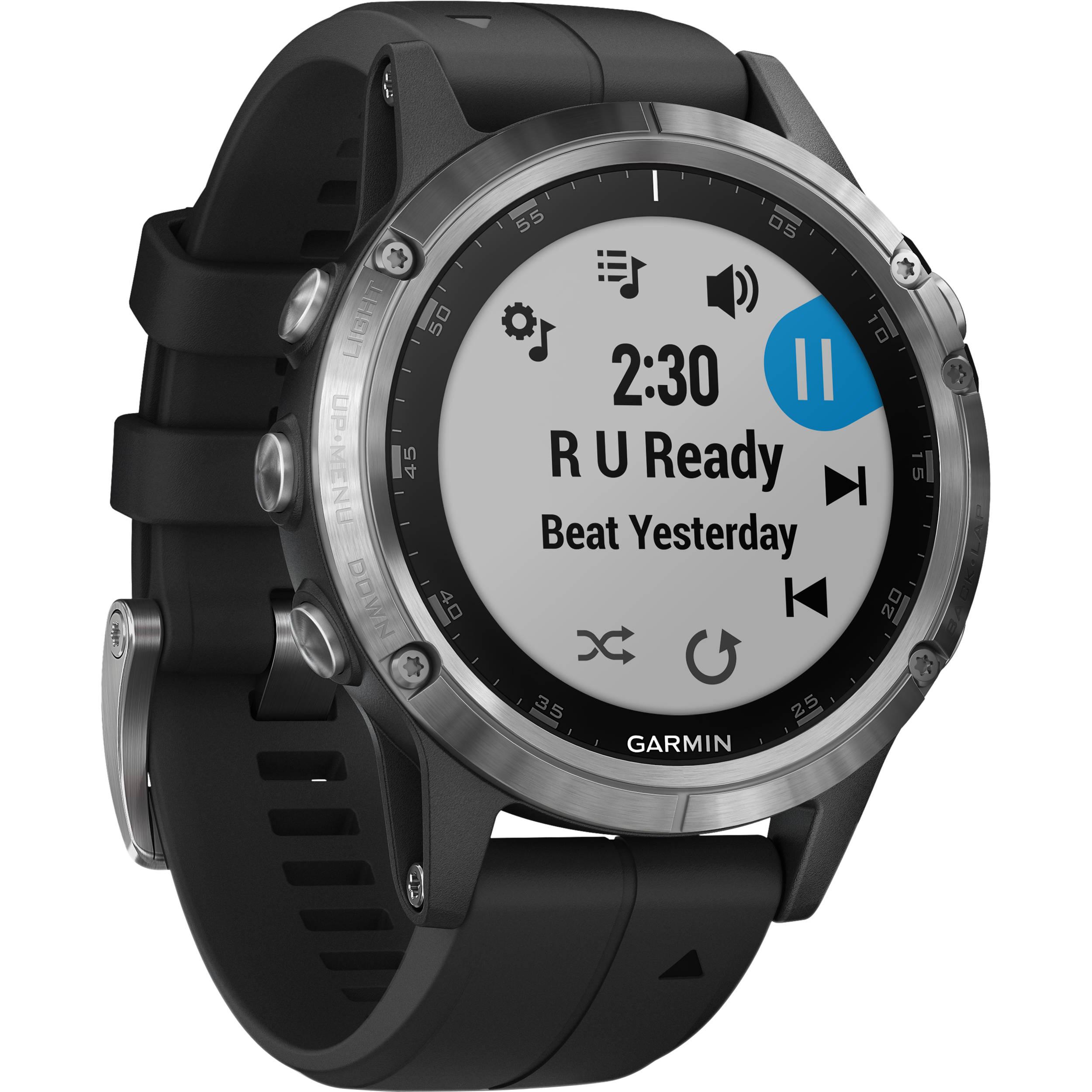 Garmin fenix 5 Plus Multi-Sport Training GPS Watch 010-01988-10