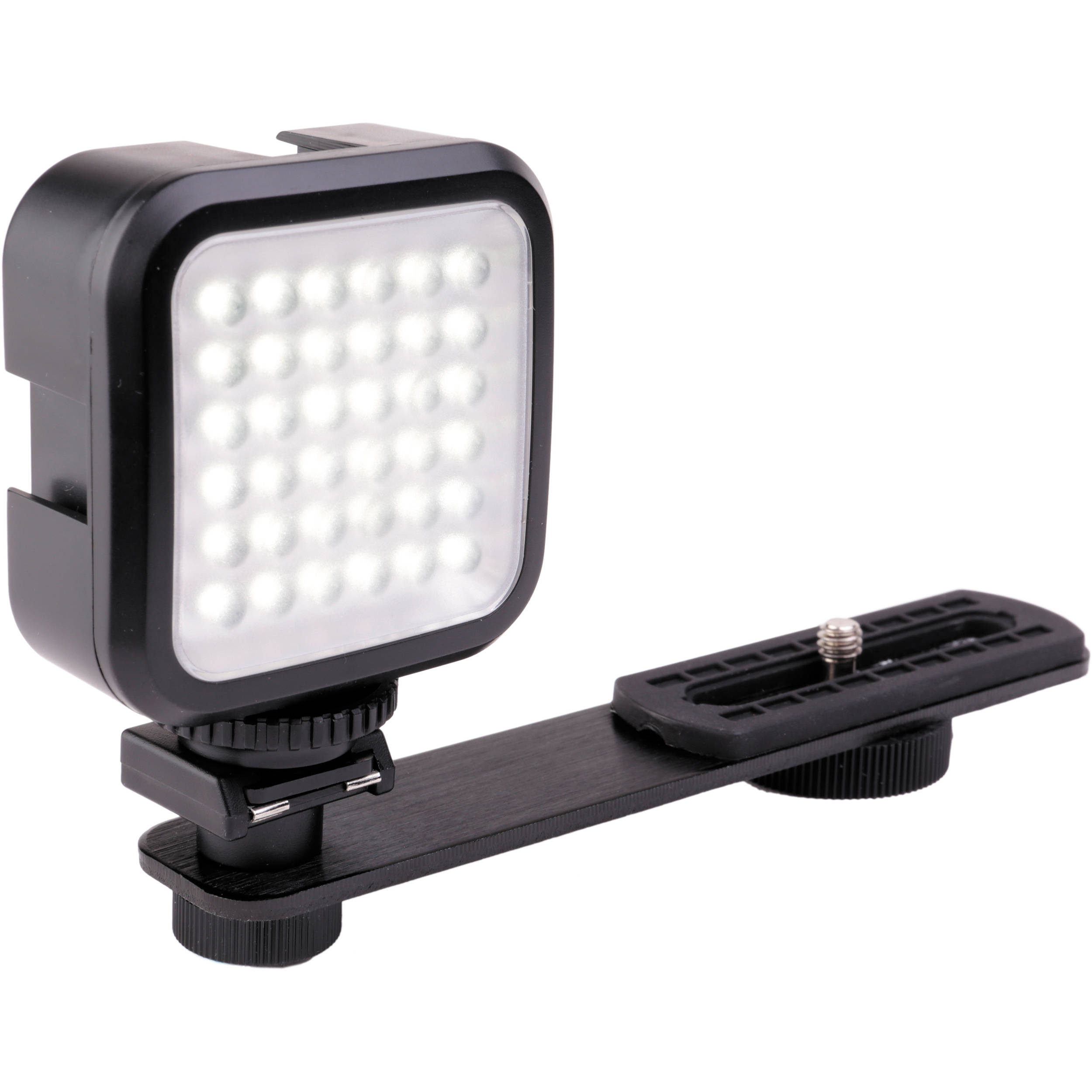 474b43bd0b594 Genaray LED-2100 36 LED Compact On-Camera Light