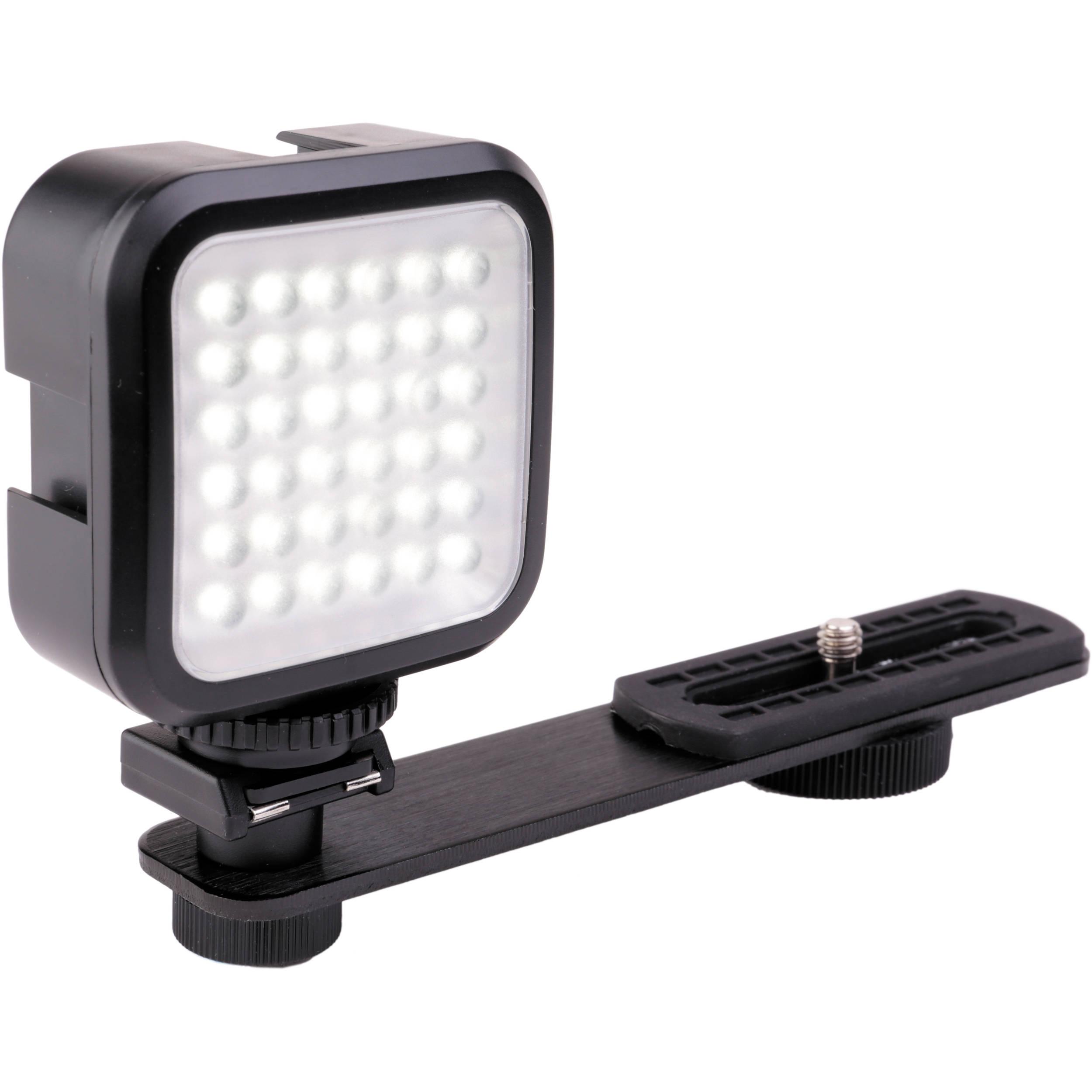 Genaray Led 2100 36 Led Compact On Camera Light Led 2100 B Amp H