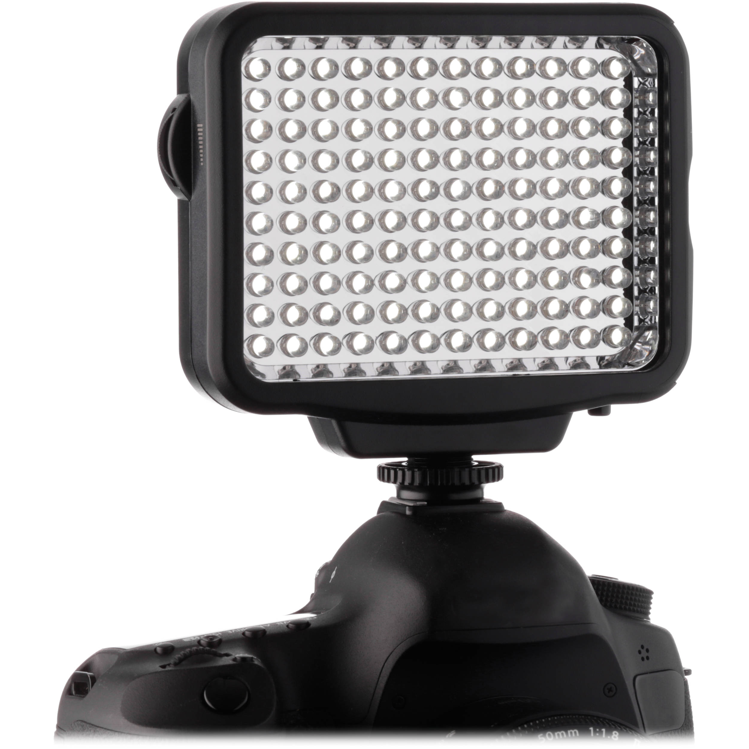 Genaray Led 5300 120 Led Dimmable Compact On Camera Light