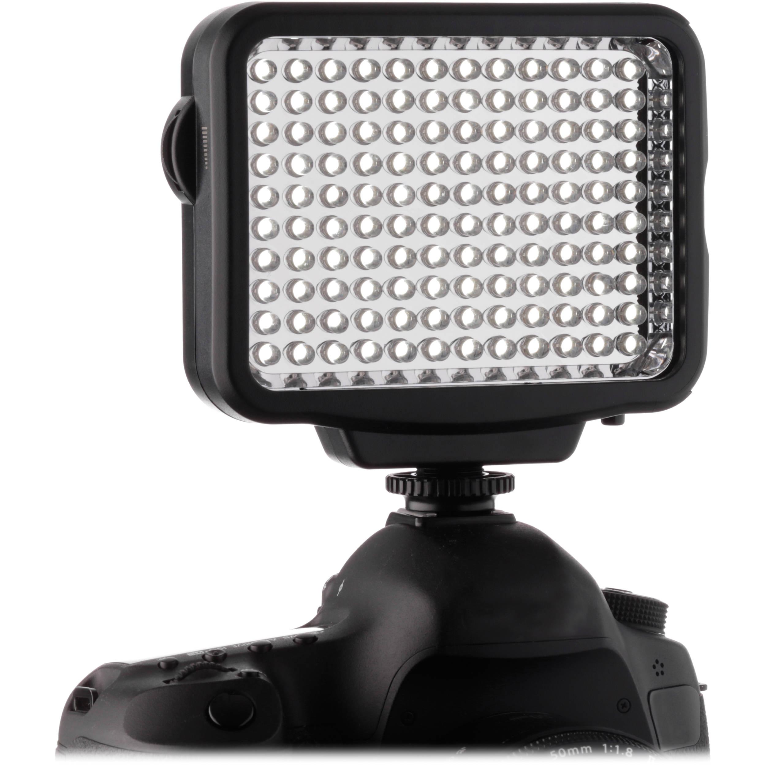Genaray LED-5300 120 LED Dimmable Compact On-Camera LED