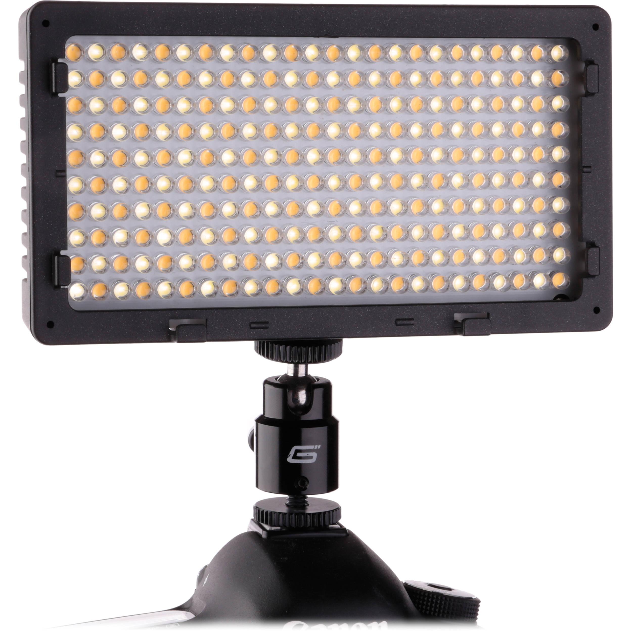 Genaray LED-5700T 240 LED Variable-Color On-Camera LED