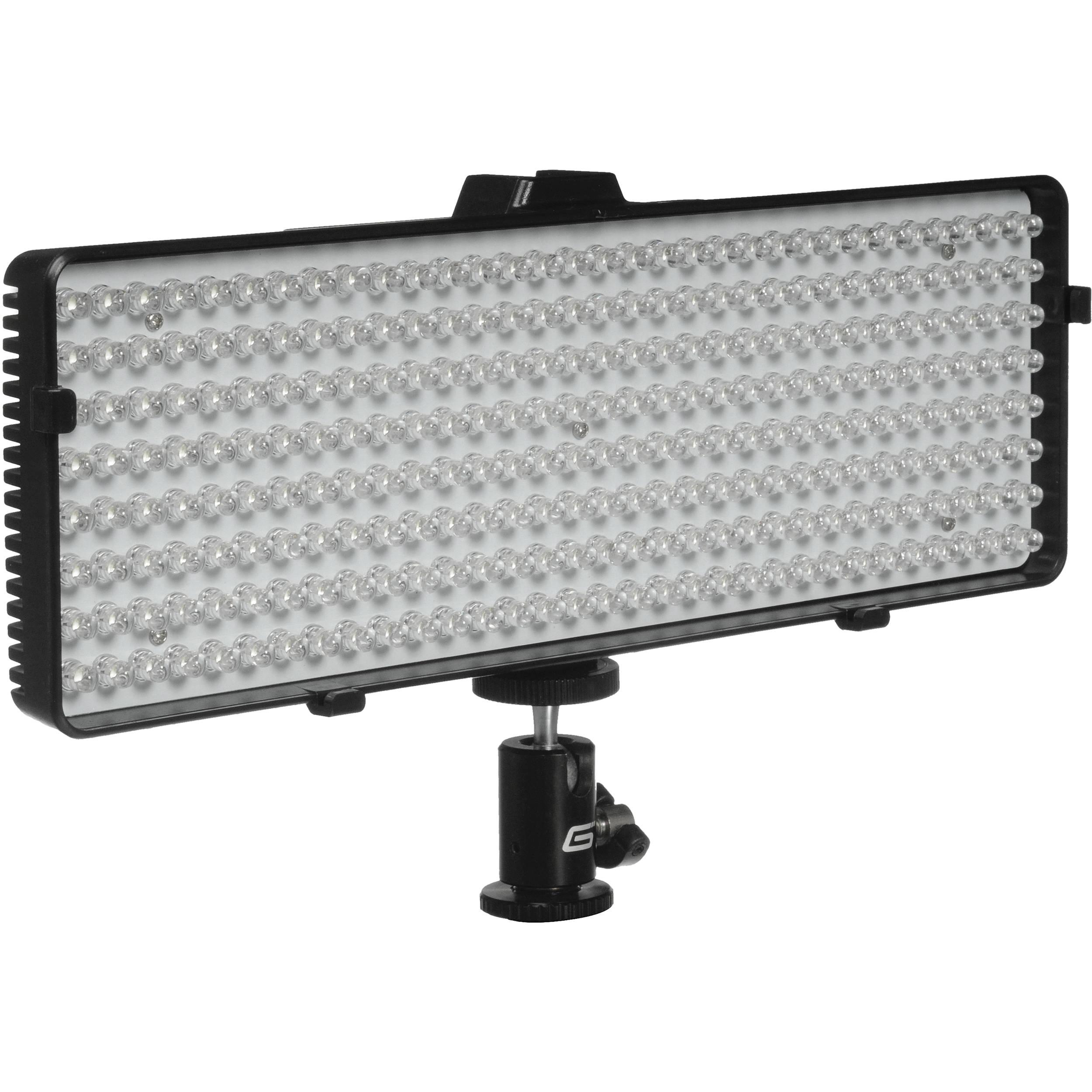 Genaray LED-6800 256 LED Daylight-Balanced On-Camera LED-6800