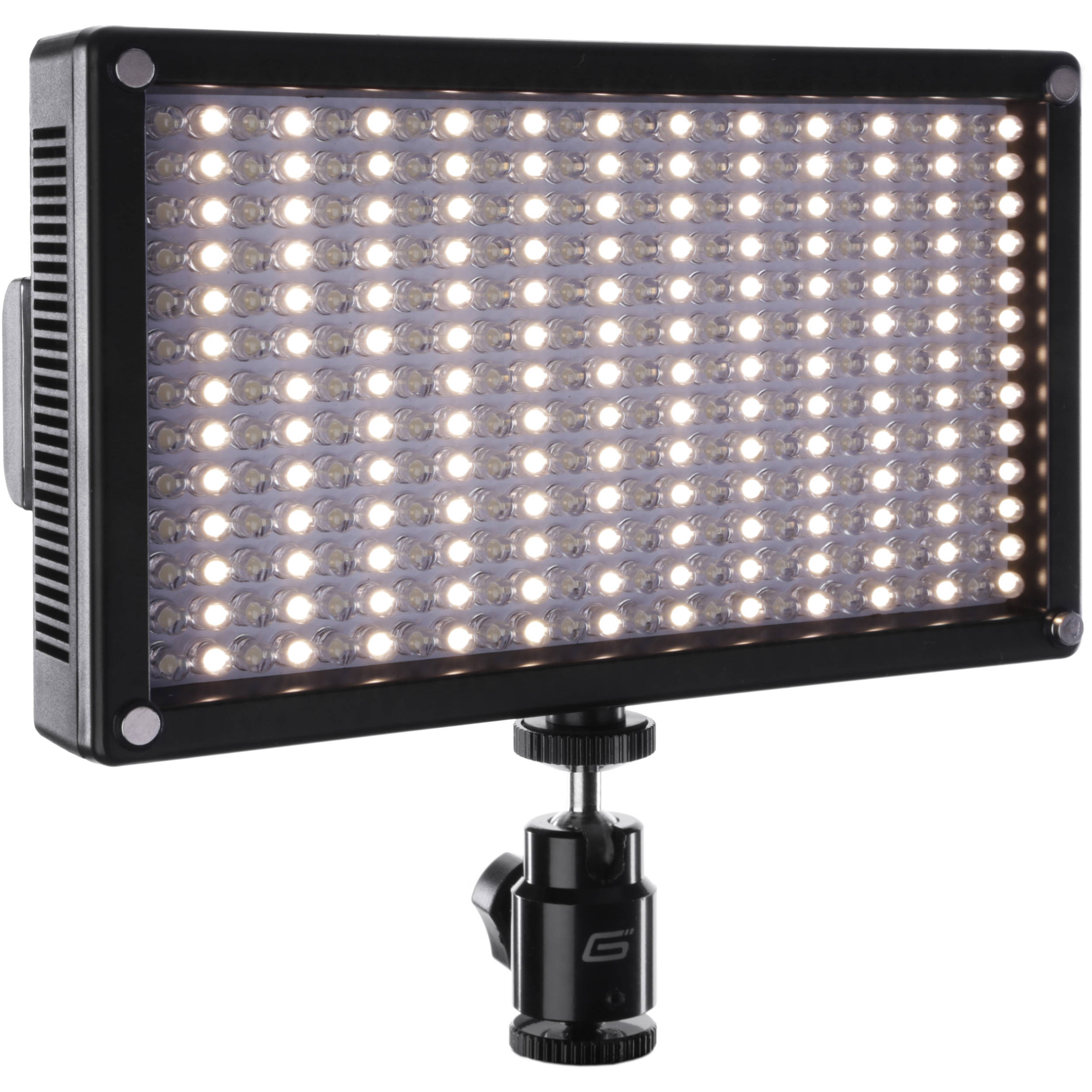 Genaray led 7100t 312 led variable color on camera light
