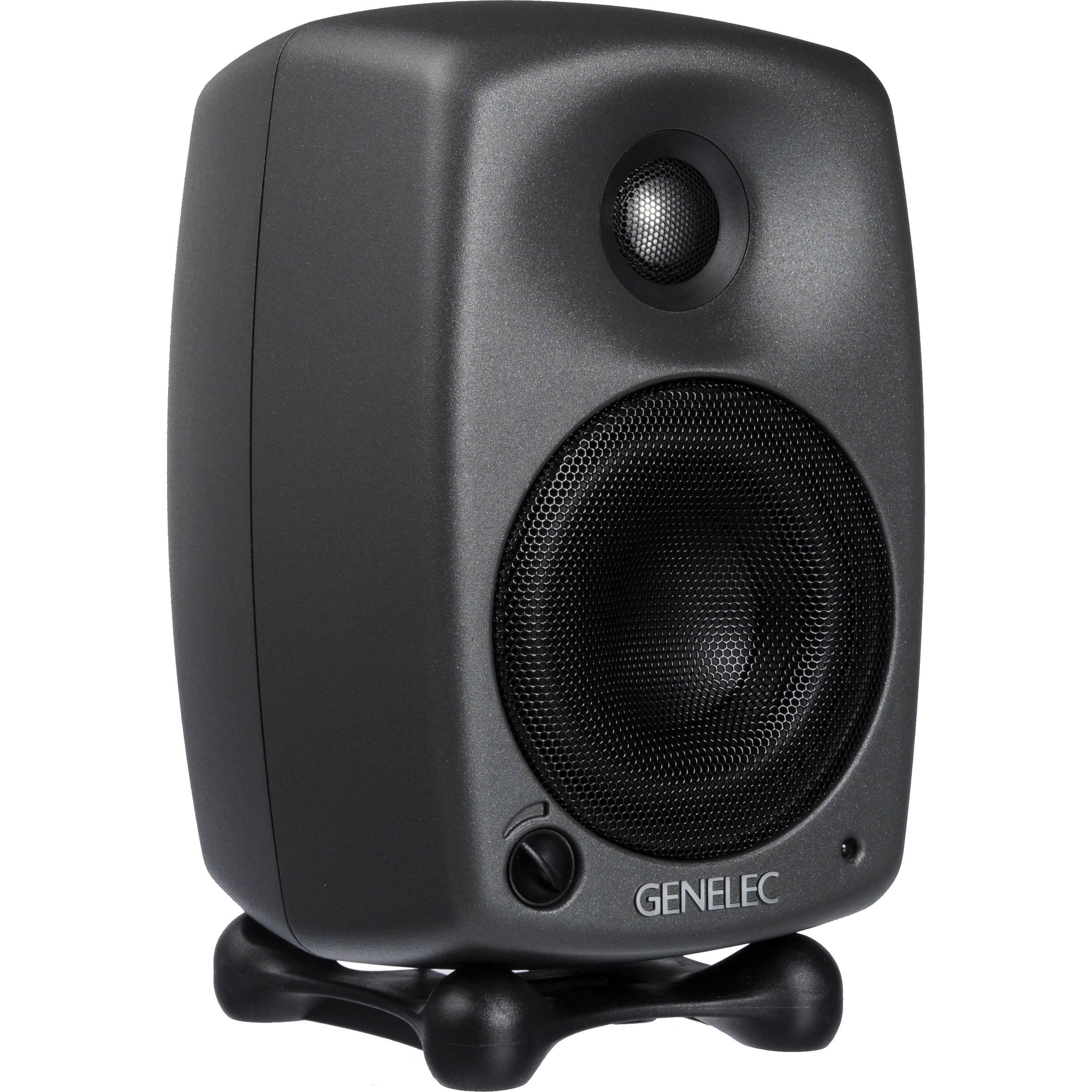 genelec 8020c active two way 4 studio monitor 8020cpm b h. Black Bedroom Furniture Sets. Home Design Ideas