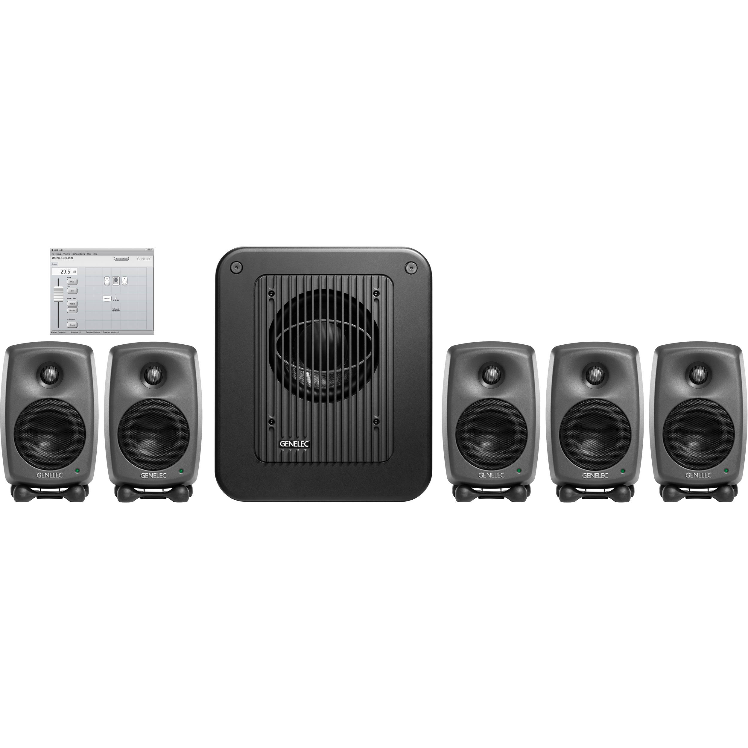 Genelec 8320lse Surround Sam Five Bh Subwoofer Filter Crossover 11 90 Hz Frequency Circuit Free Picture Lse 8320a One 7350a Glm V2