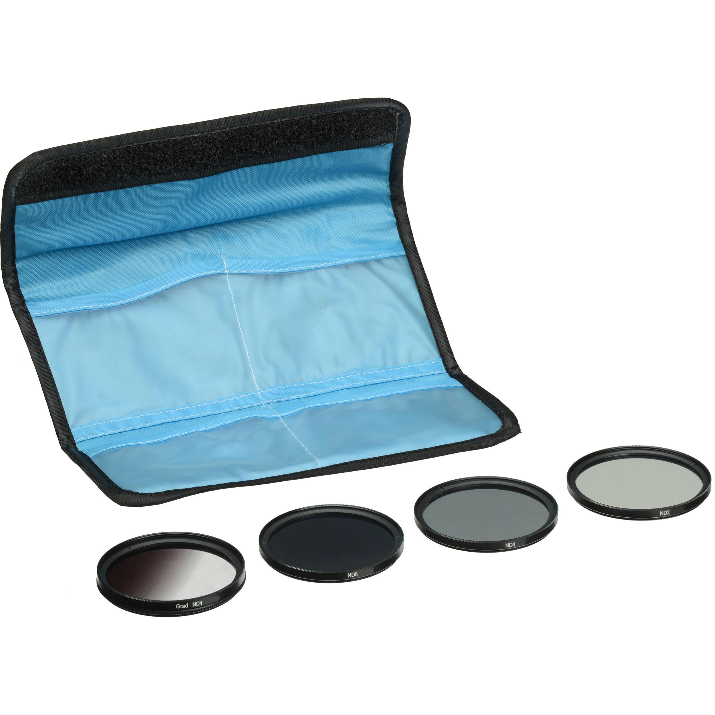 General Brand 58mm 5 Piece Neutral Density Filter Kit