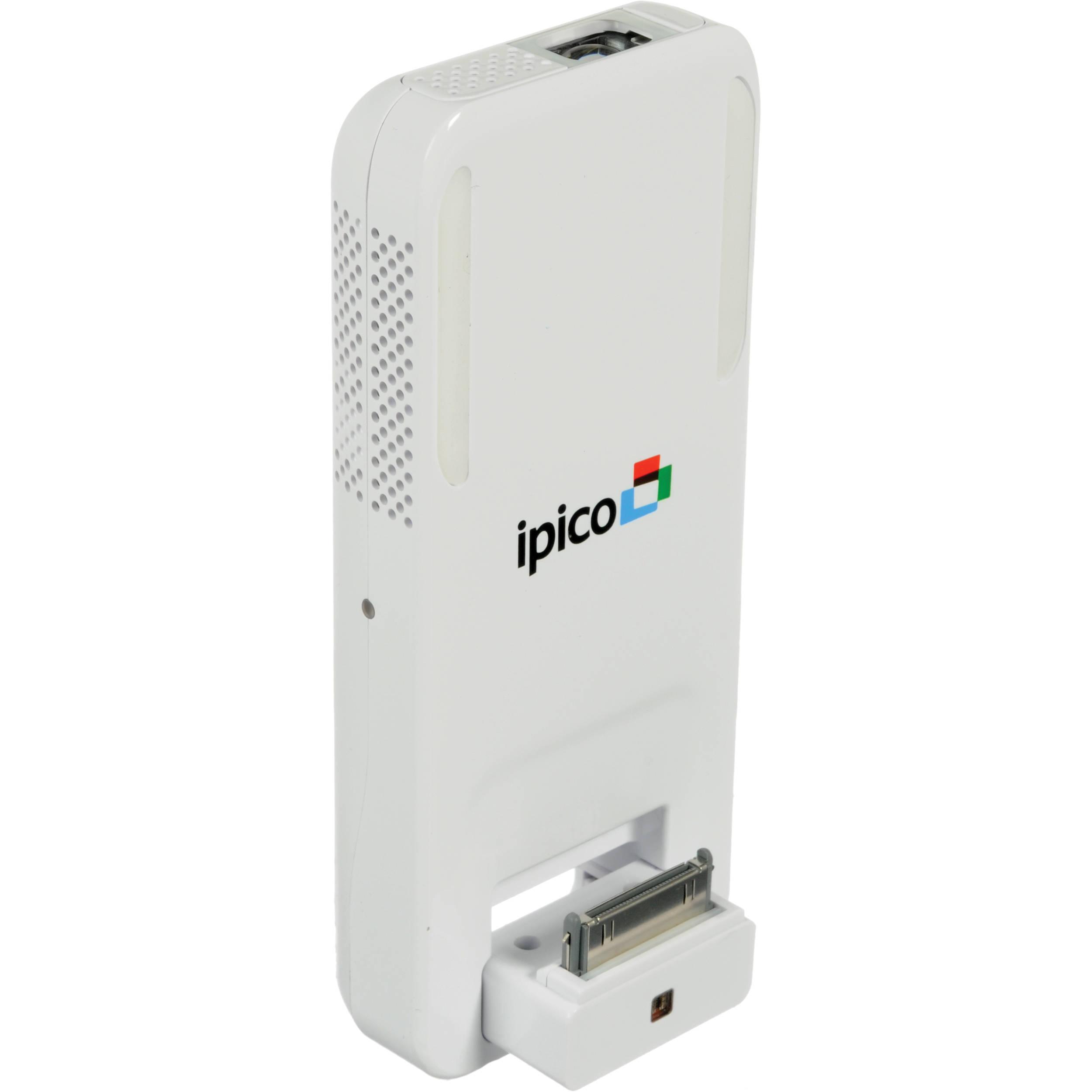 General imaging pj205 ipico hand held projector pj205w1 b h for Handheld projector reviews