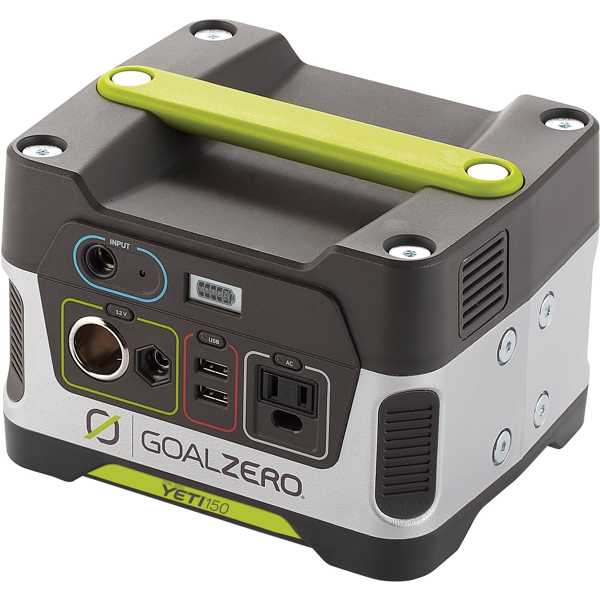 Solar Portable Power Bh Photo Video Deer Feeder Battery Charger On Wiring Panel Goal Zero Yeti 150 Generator Pack