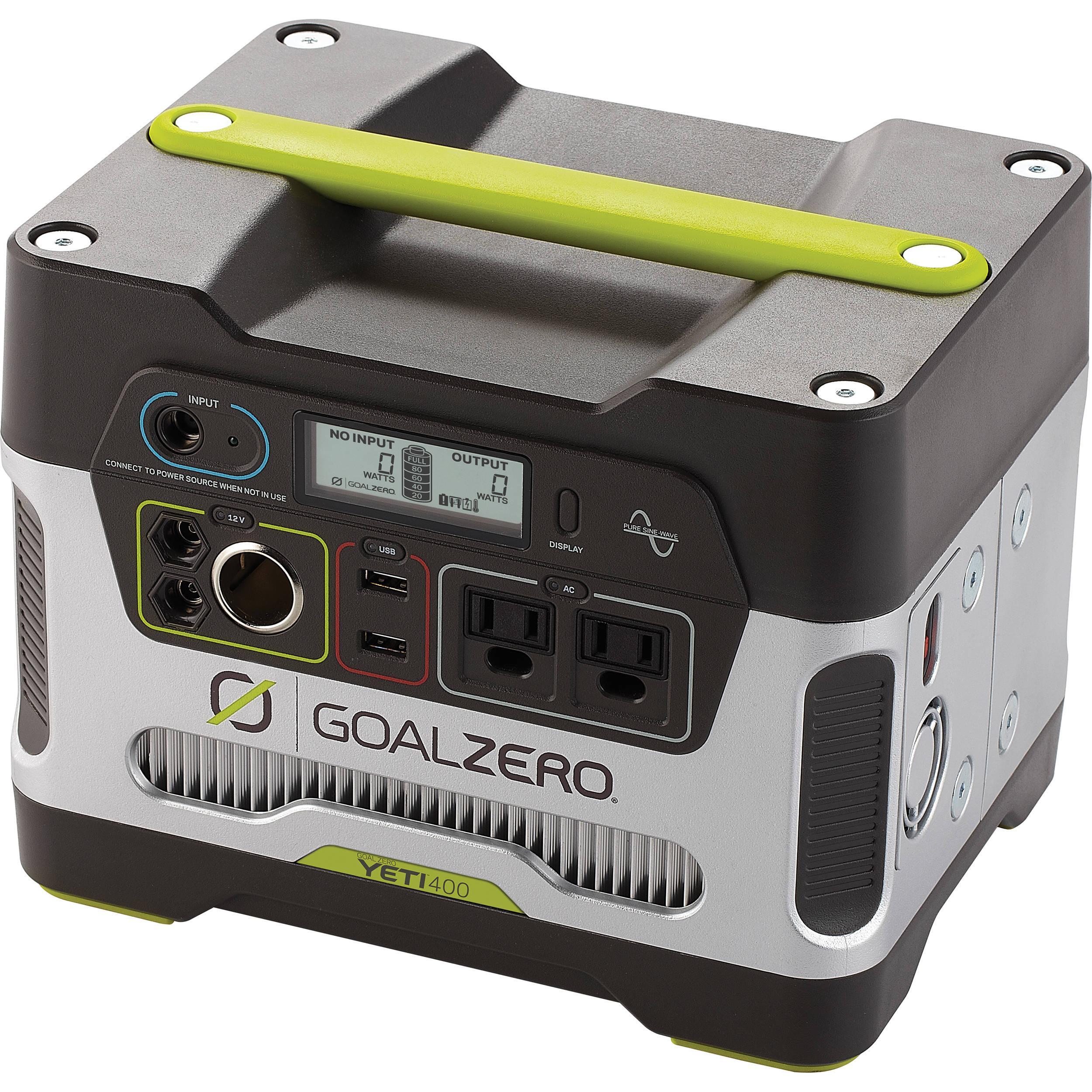 GOAL ZERO Yeti 400 Solar Generator Power Pack B&H