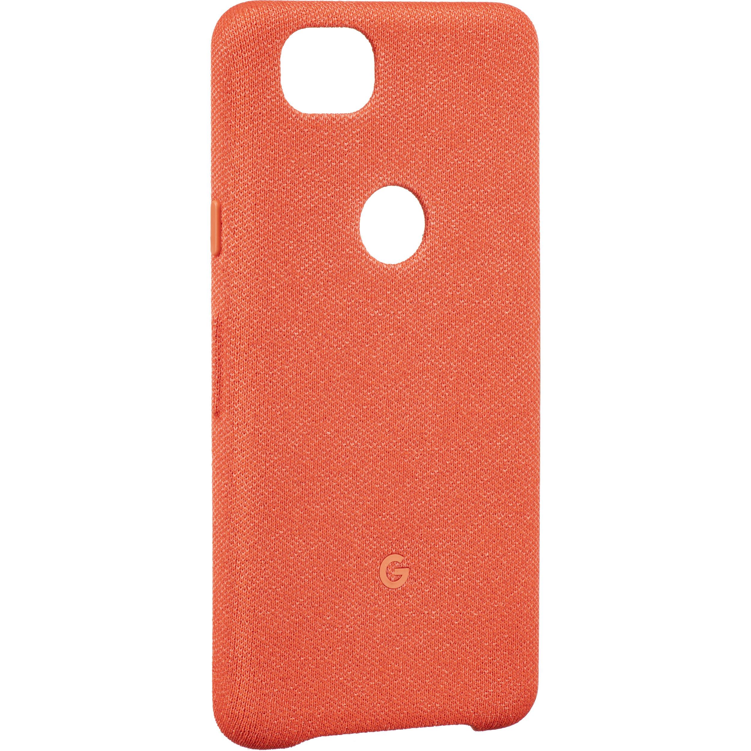 527869f326b0 Google Pixel 2 Fabric Case (Coral) GA00162 B H Photo Video